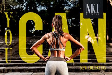 Coleção You can - NKT Fitwear Moda Fitness