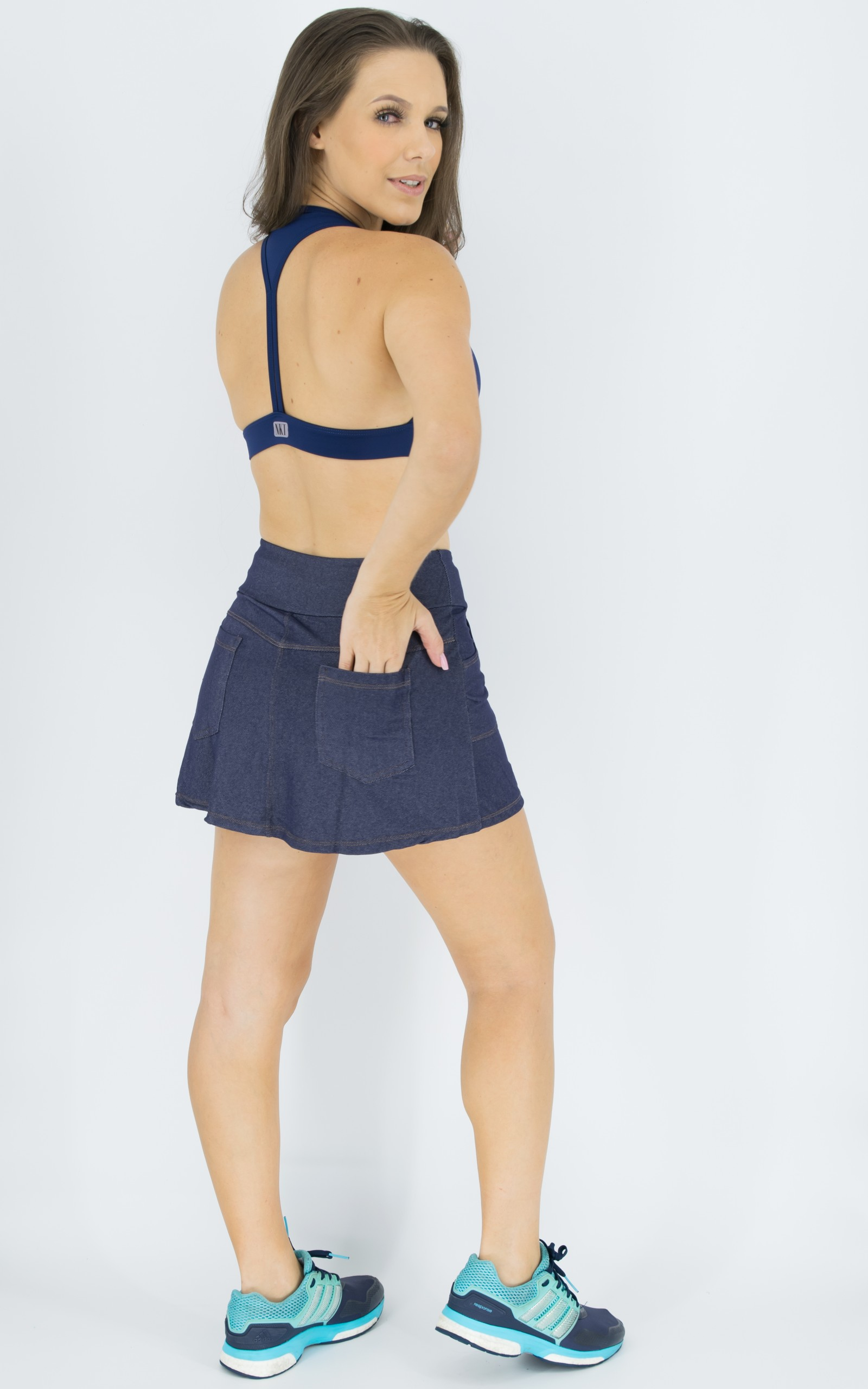 Top Move Marinho, Coleção Move Your Body - NKT Fitwear Moda Fitness
