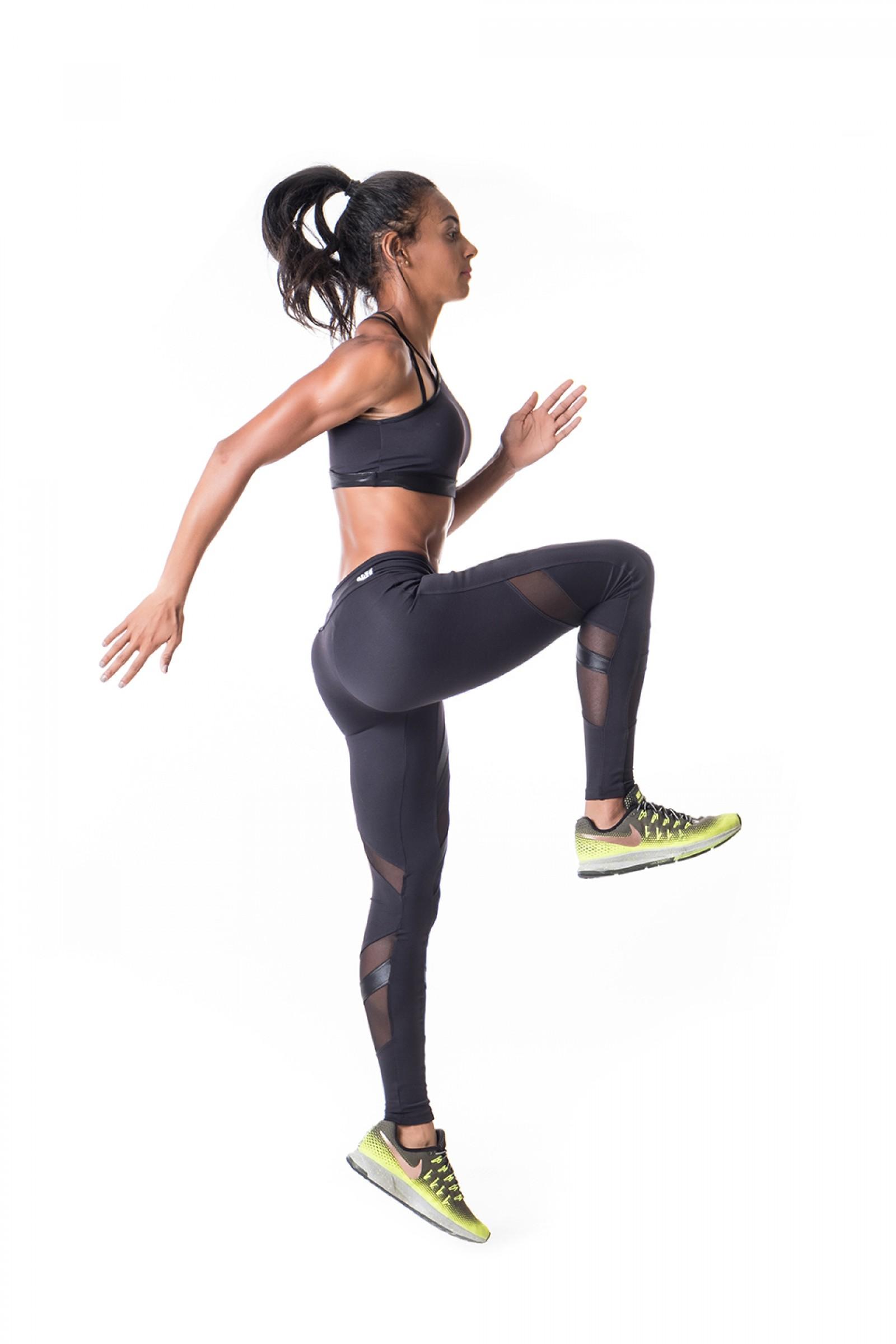 Legging Instigate Preto, Coleção Challenge - NKT Fitwear Moda Fitness