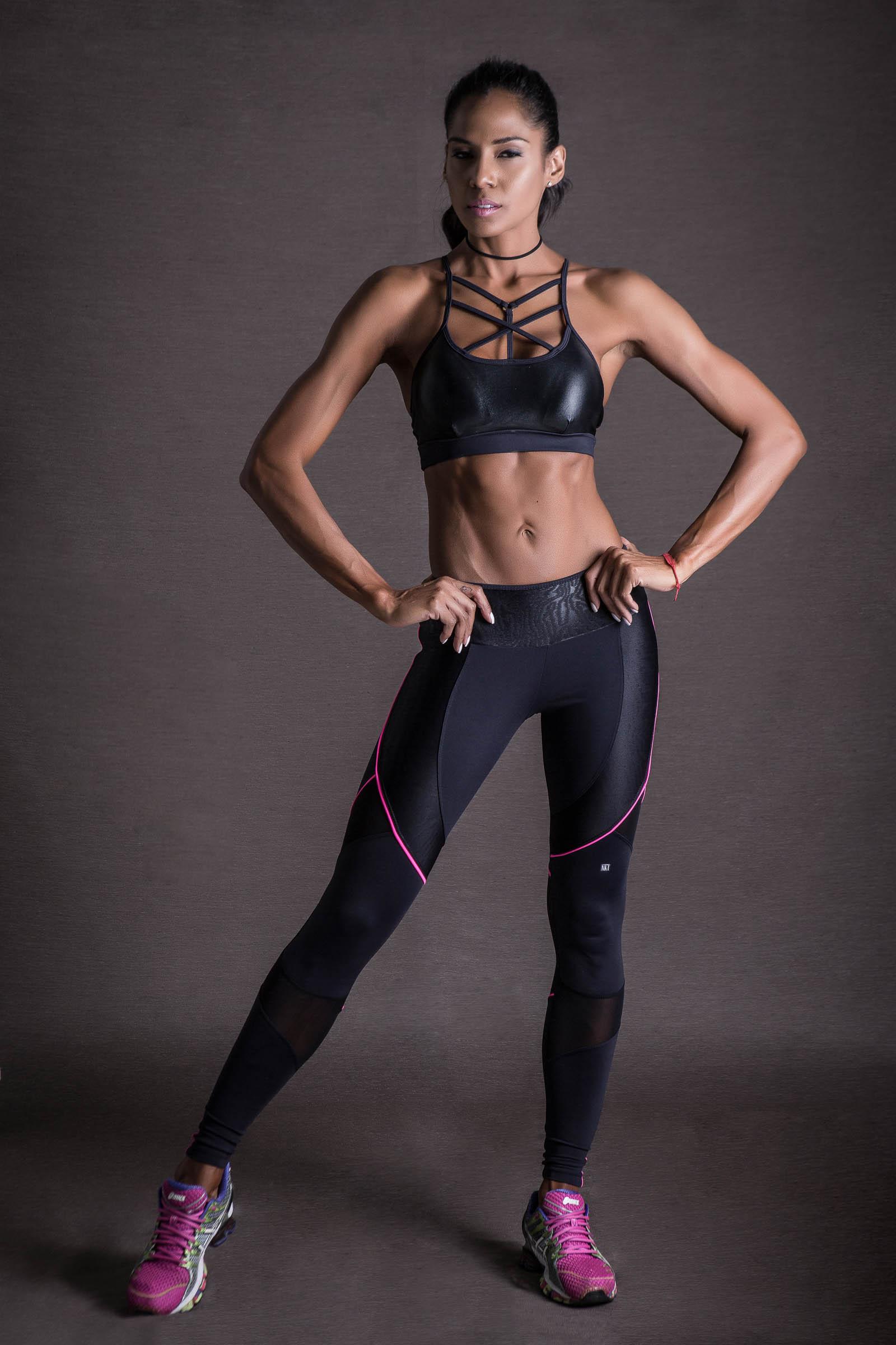 Legging Infinity Preto, Coleção You can - NKT Fitwear Moda Fitness
