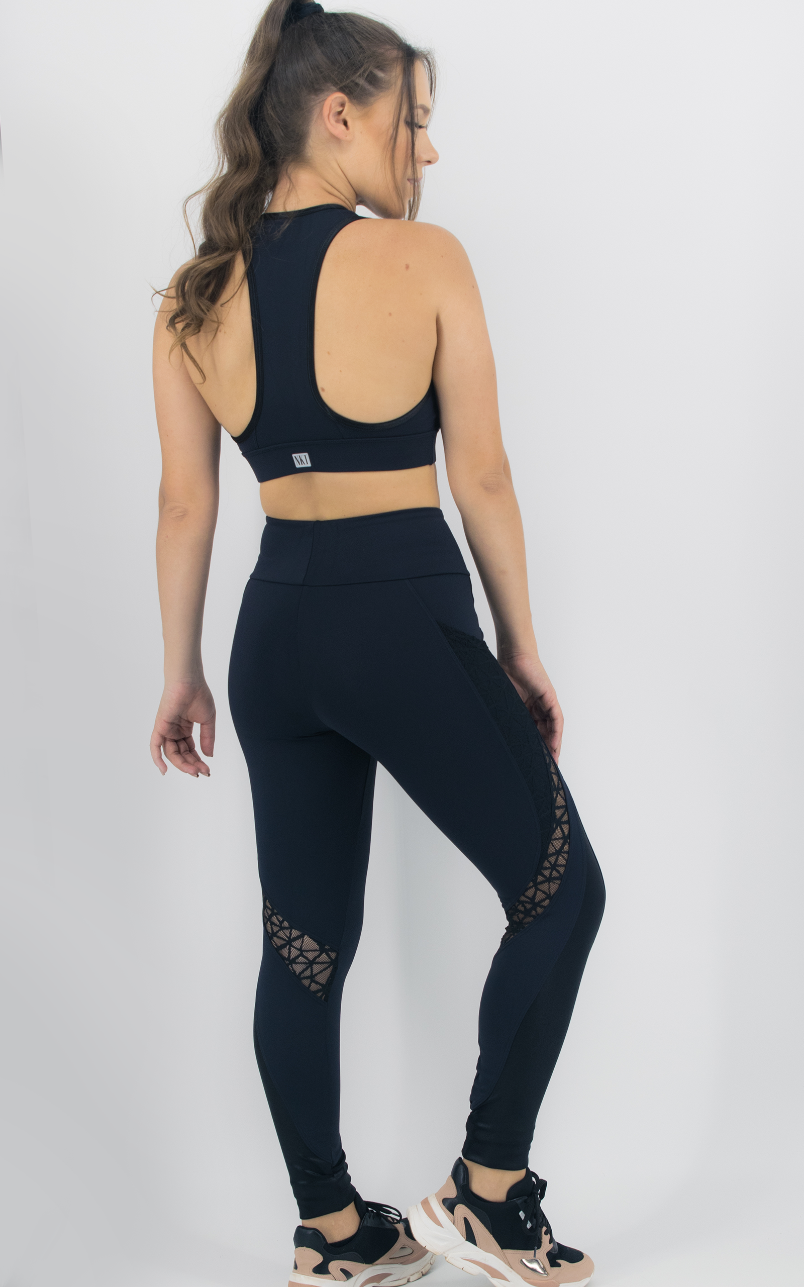 Top Expression Preto, Coleção Move Your Body - NKT Fitwear Moda Fitness