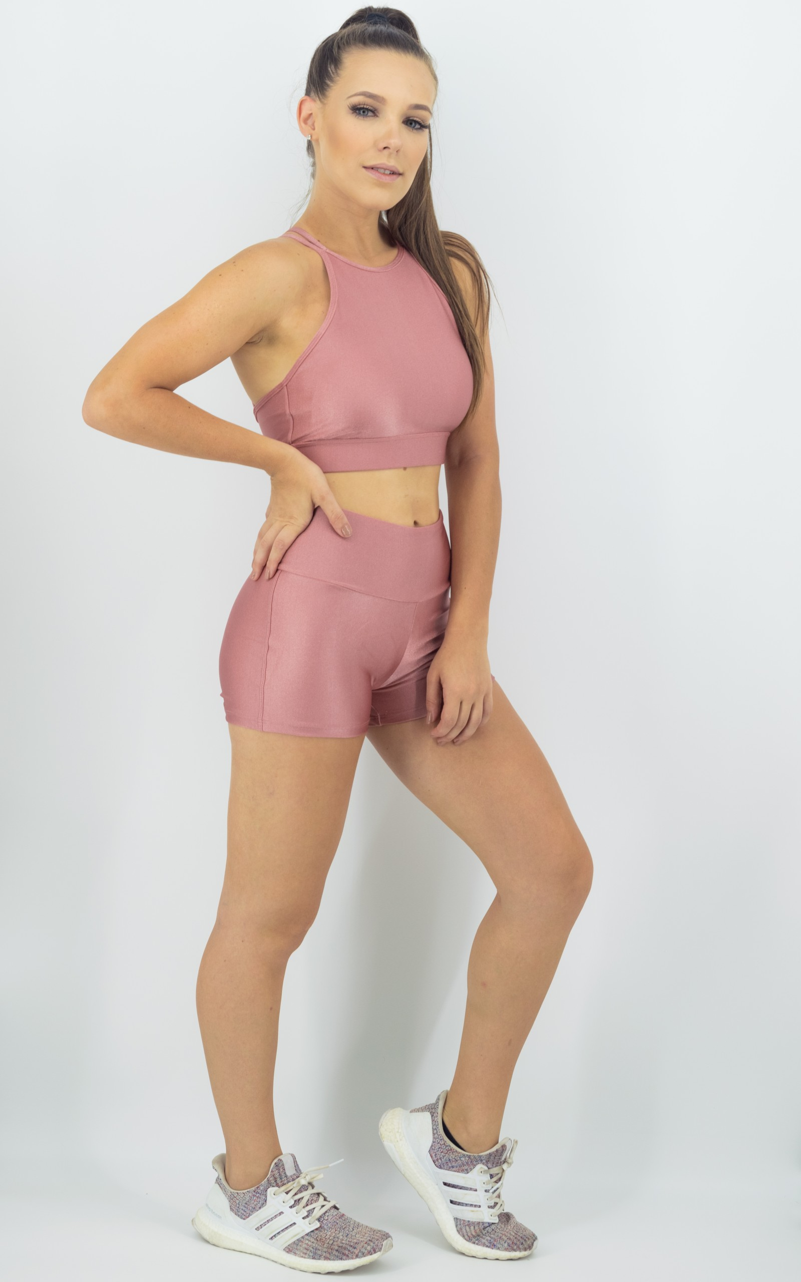 Cropped Absolute Rosa Boca, Coleção Move Your Body - NKT Fitwear Moda Fitness