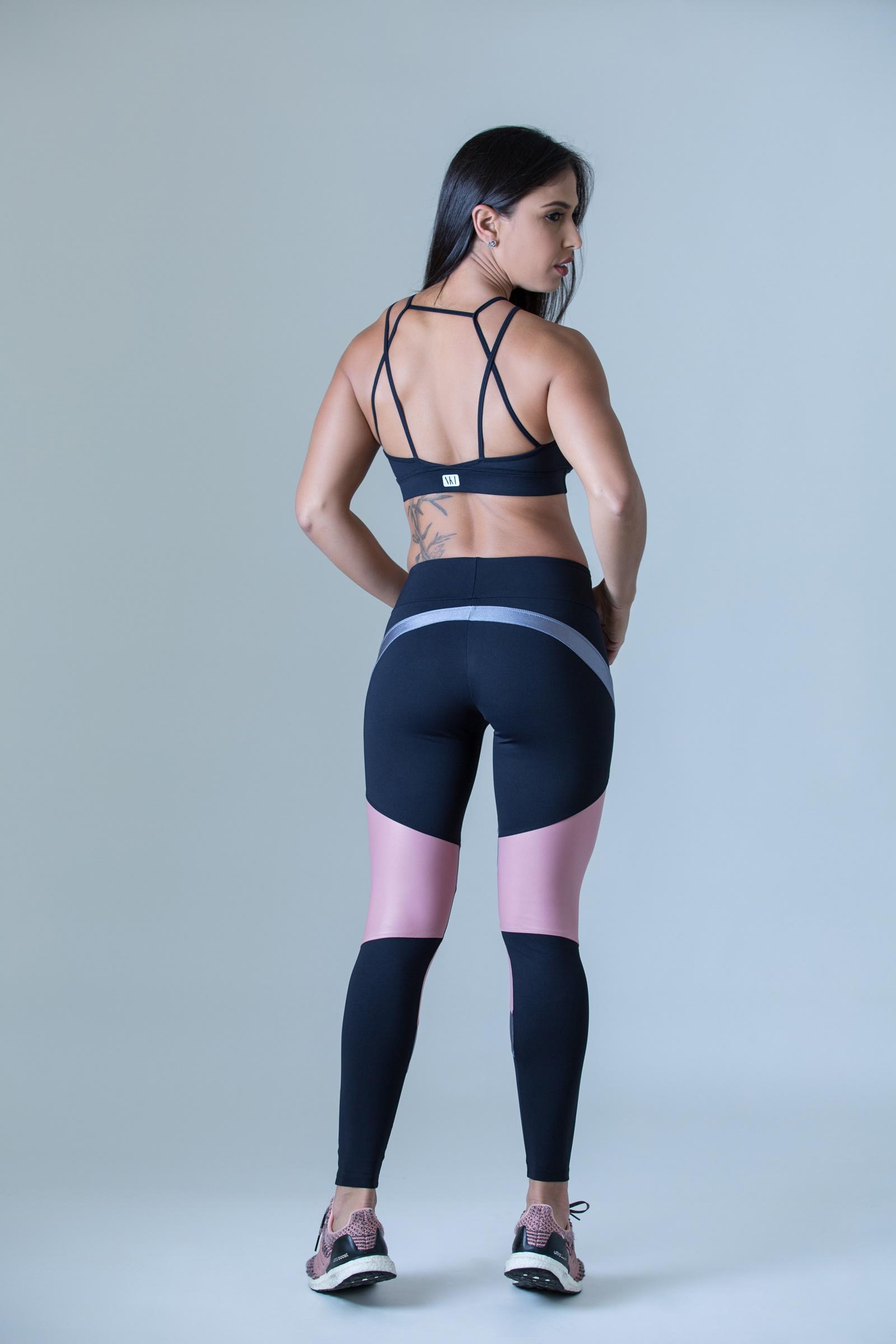 Cropped Absolute Preto, Coleção Plenitude - NKT Fitwear Moda Fitness