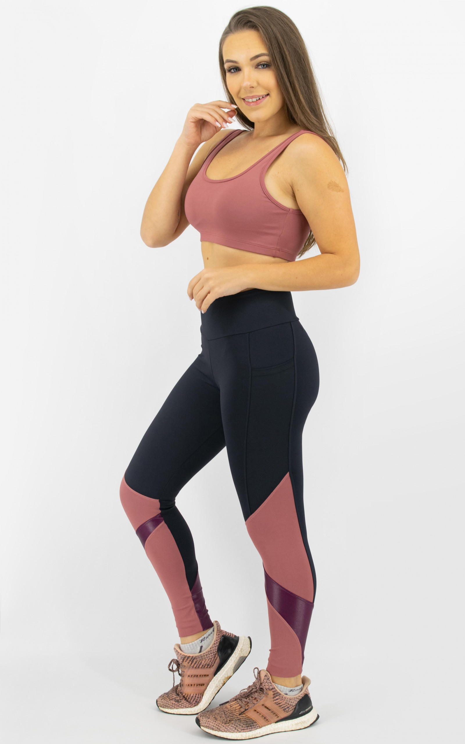 Top Arrow Blush, Coleção Move Your Body - NKT Fitwear Moda Fitness