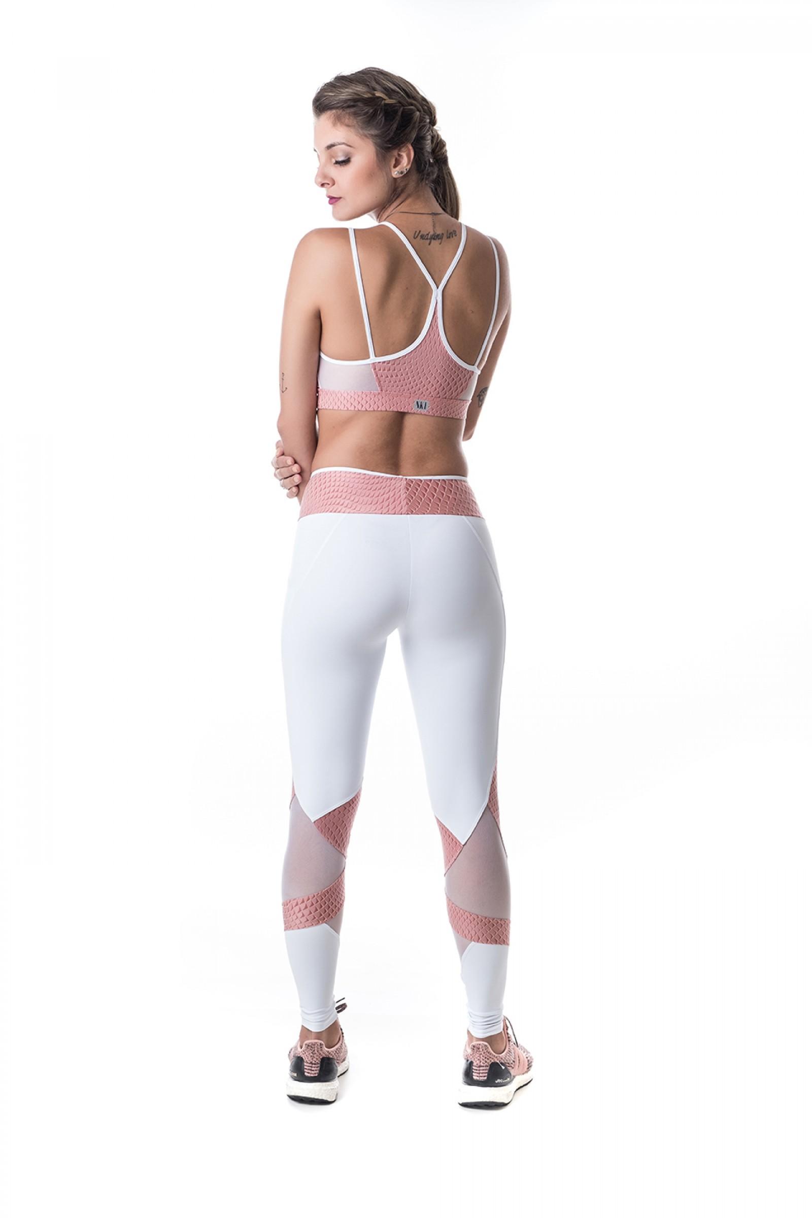 Top Best Rose, Coleção Challenge - NKT Fitwear Moda Fitness