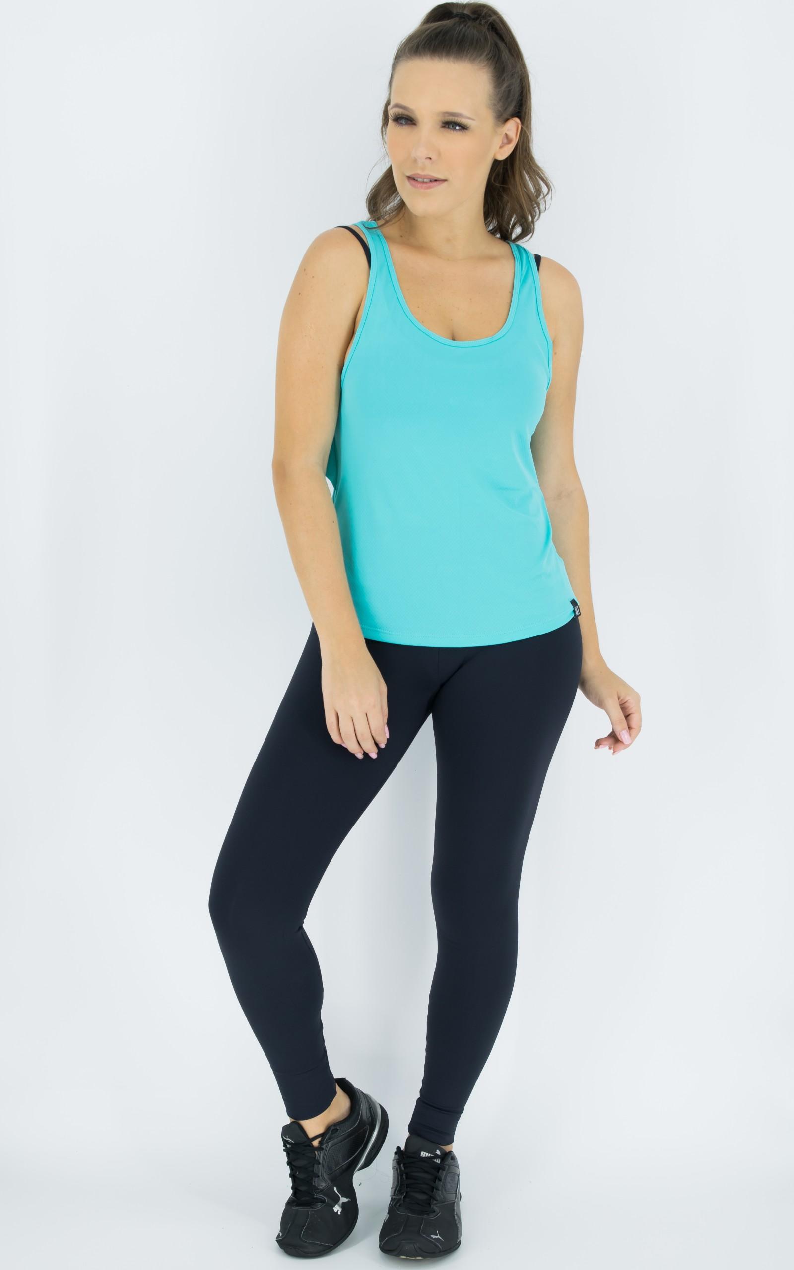Regata Lux Azul, Coleção Move Your Body - NKT Fitwear Moda Fitness