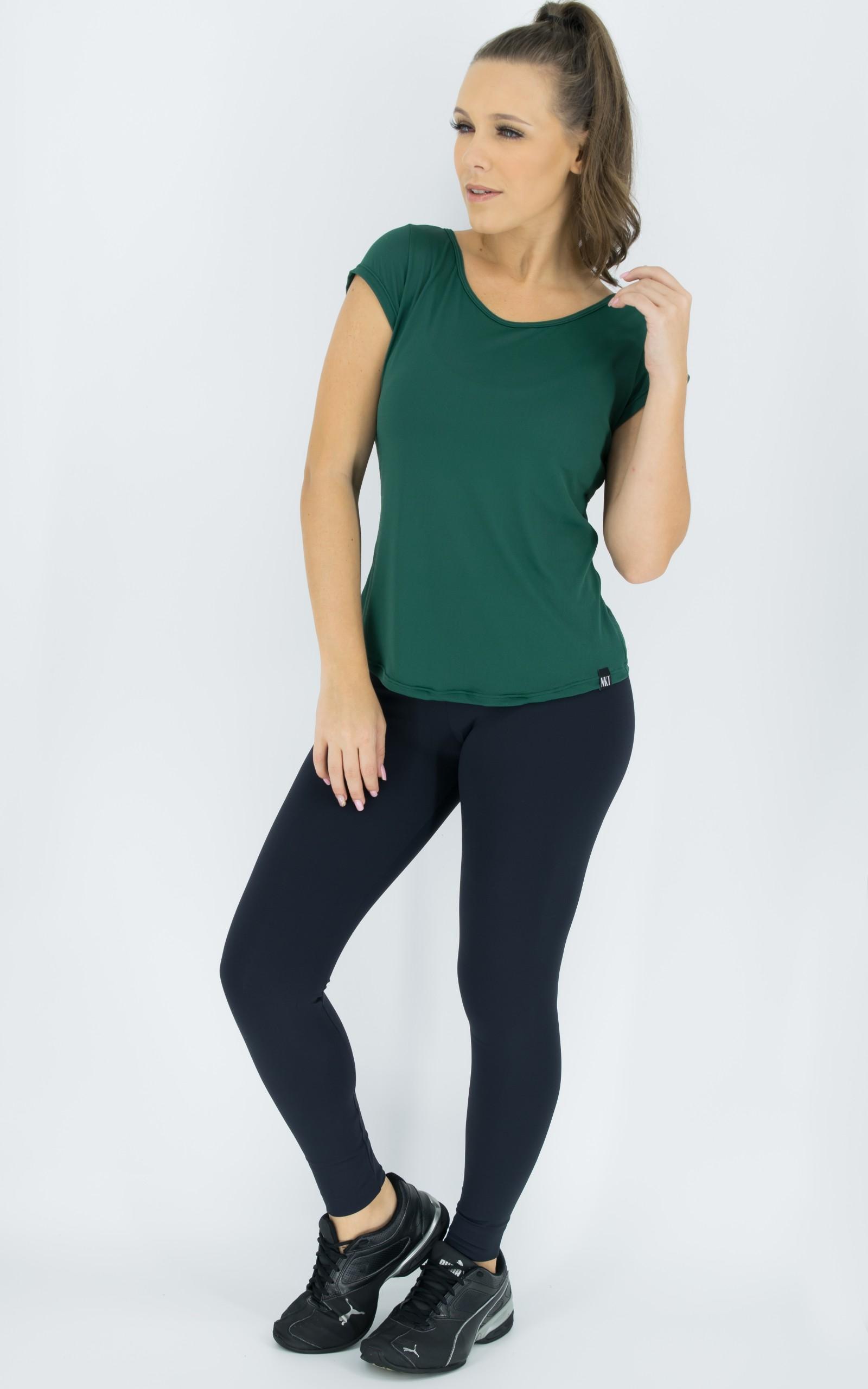 Blusa Special Verde, Coleção Move Your Body - NKT Fitwear Moda Fitness