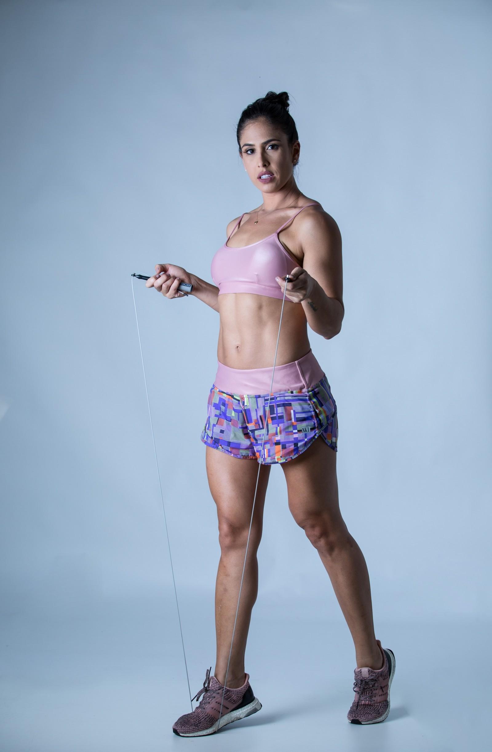 Shorts Only Estampado Roxo, Coleção Plenitude - NKT Fitwear Moda Fitness