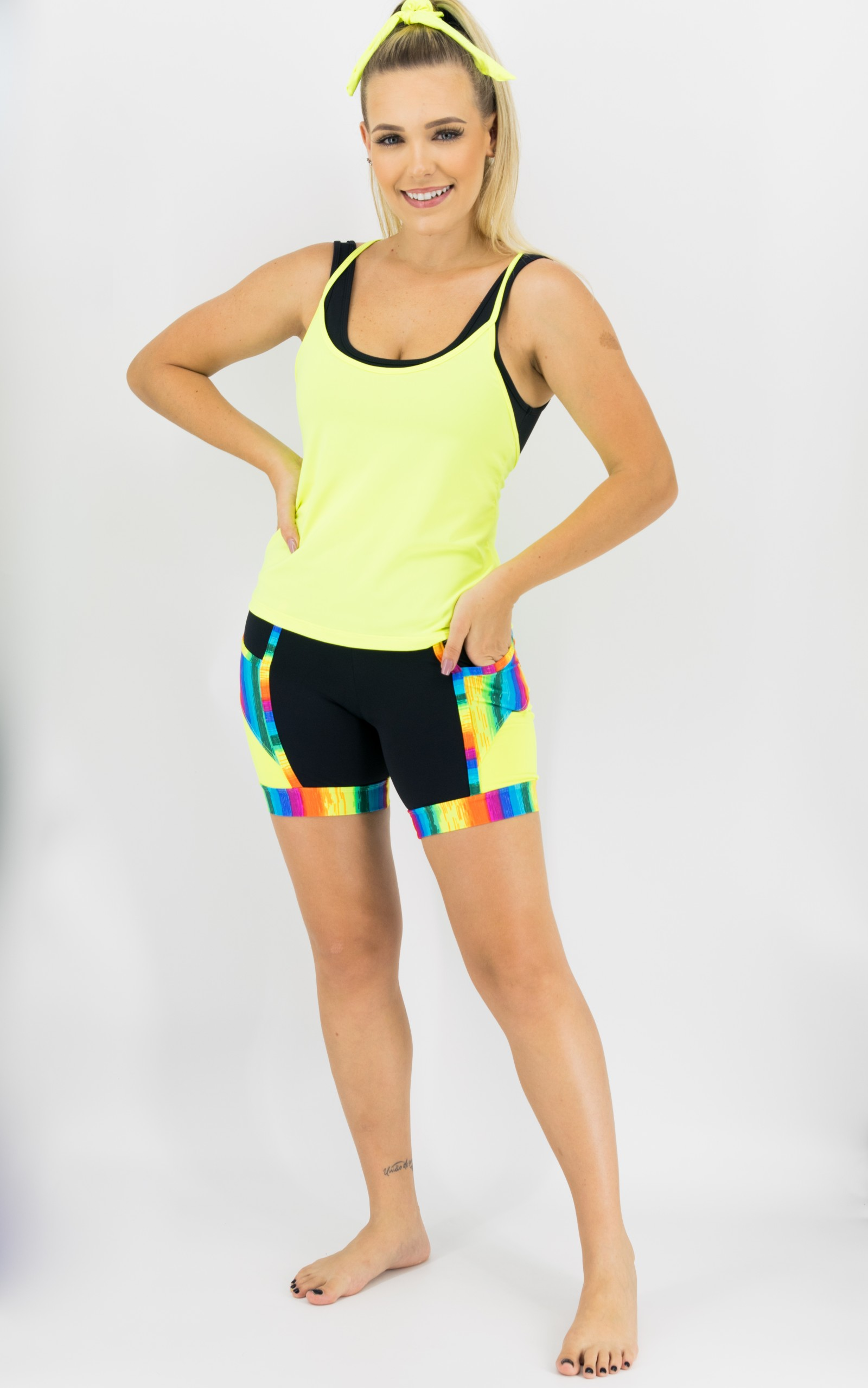 Regata Summer Neon, Coleção Move Your Body - NKT Fitwear Moda Fitness
