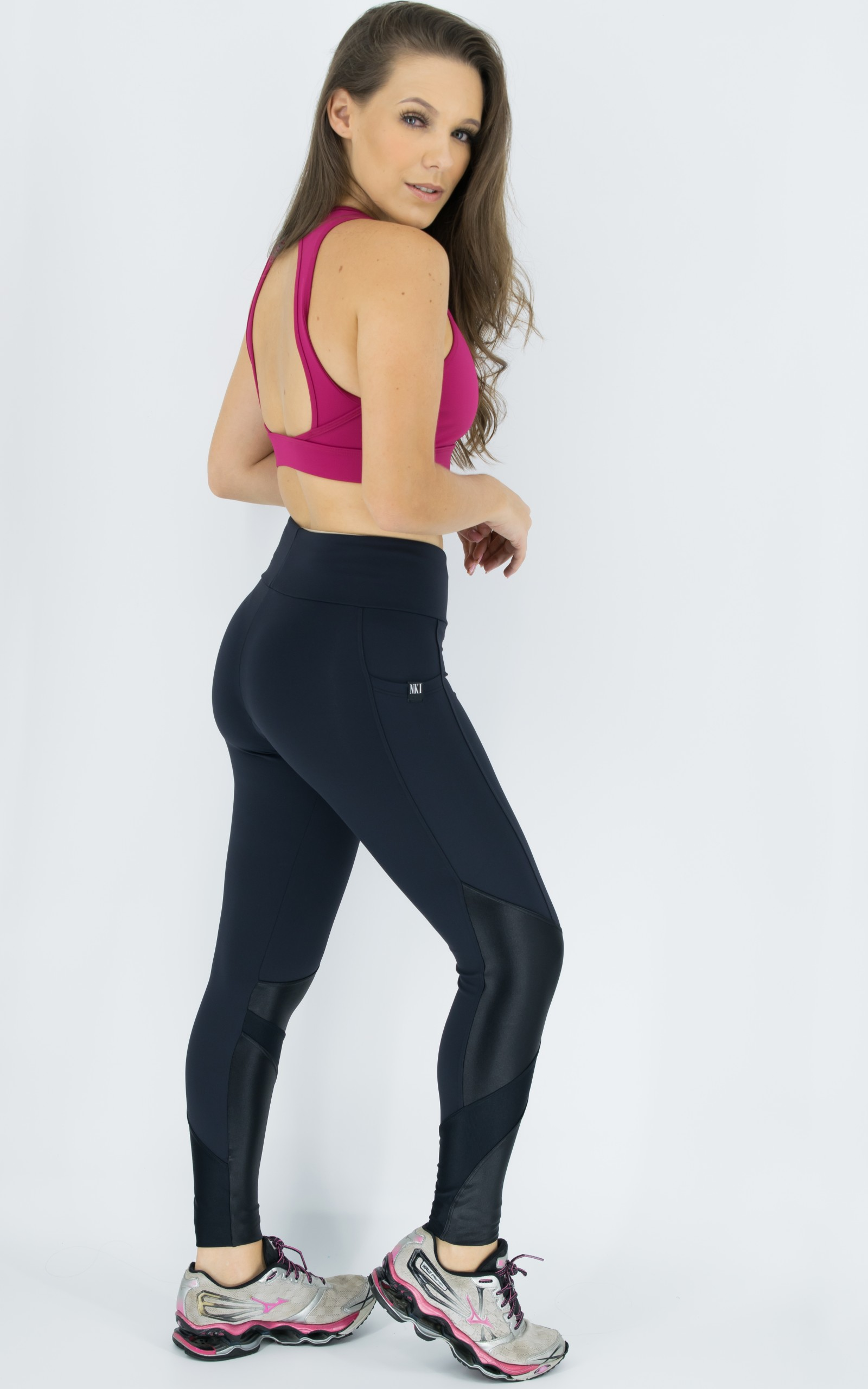 Top Pratic Marsala, Coleção Move Your Body - NKT Fitwear Moda Fitness