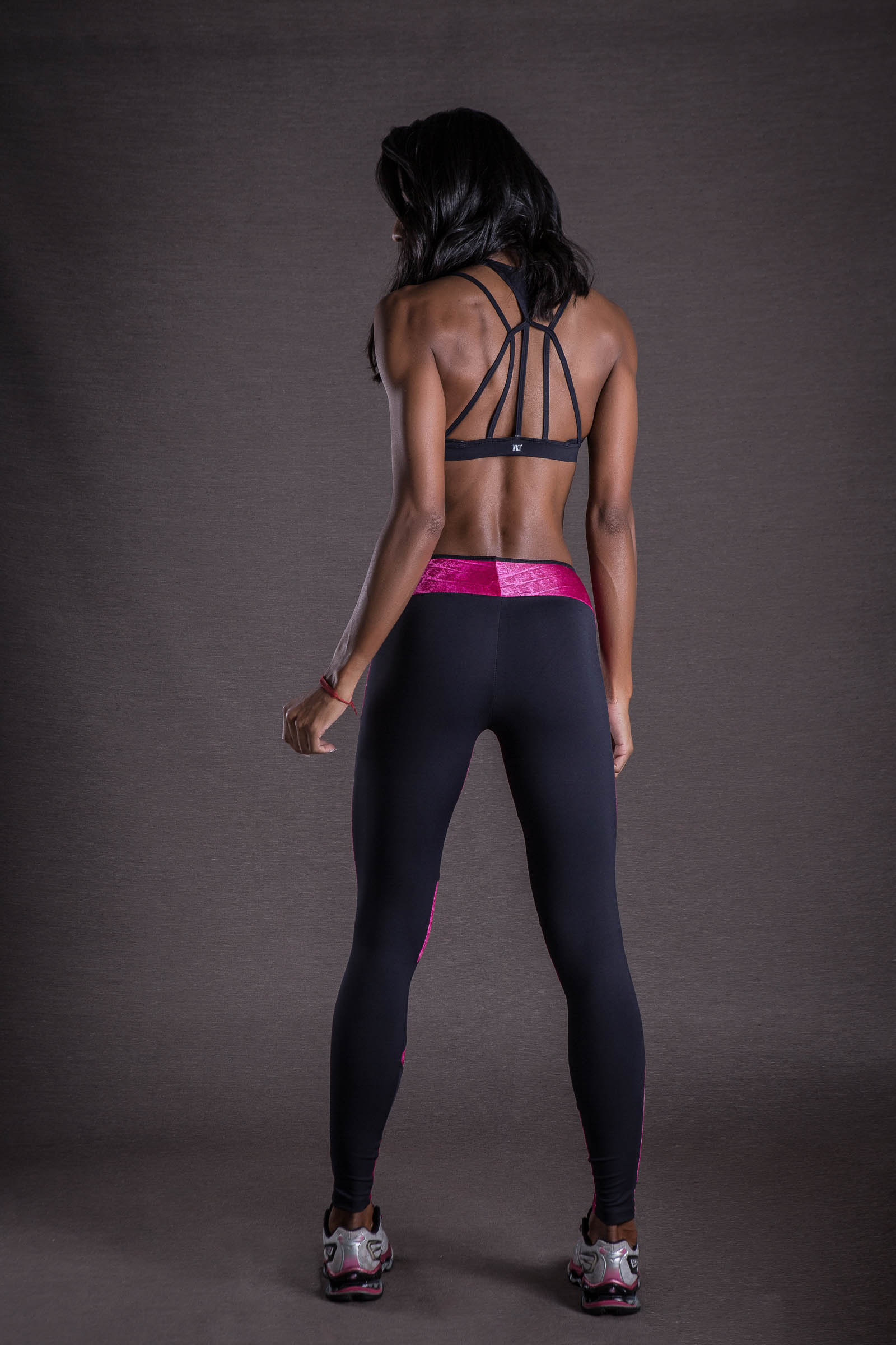 Legging Energy Croco Pink, Coleção You can - NKT Fitwear Moda Fitness