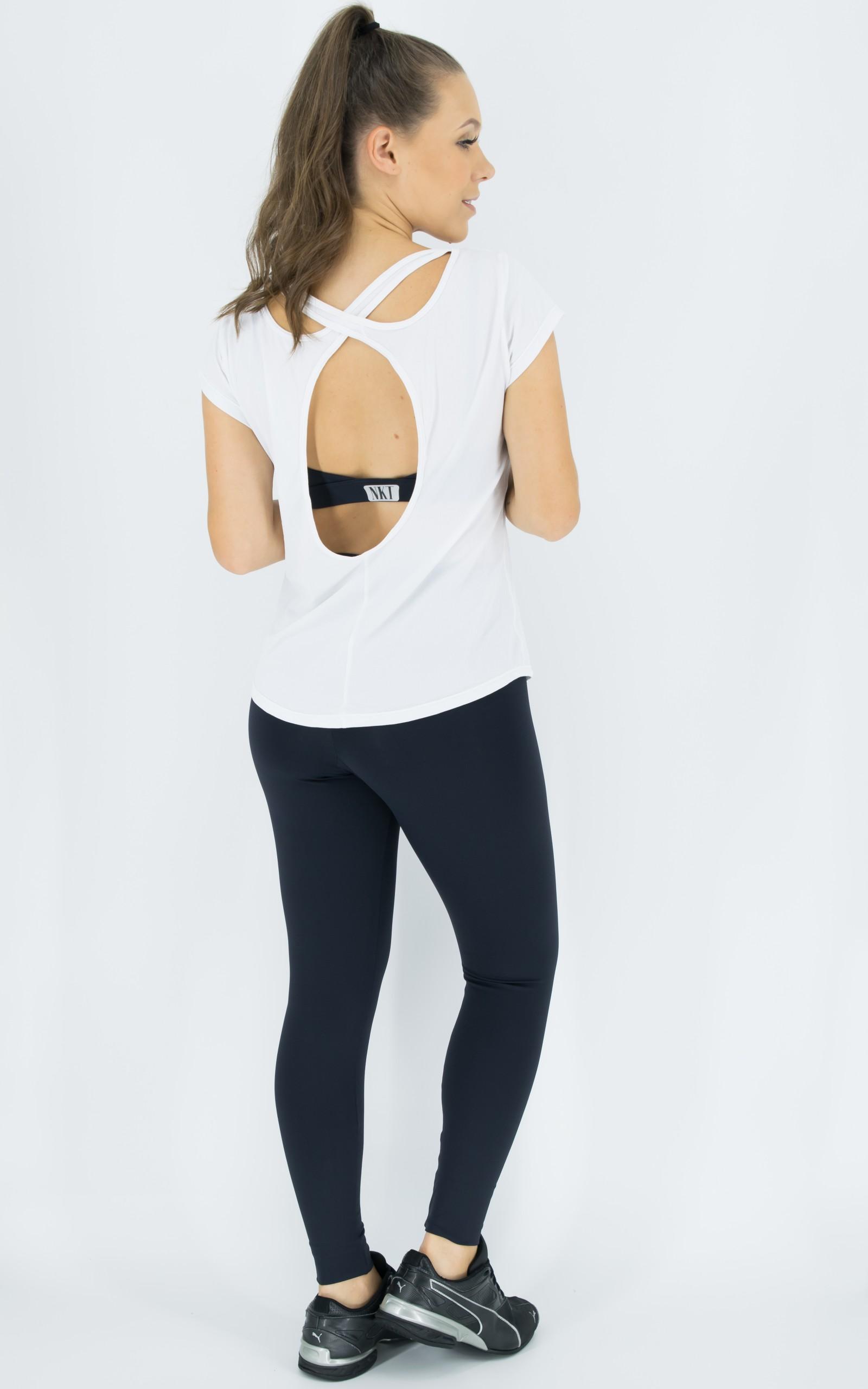 Blusa Special Branca, Coleção Move Your Body - NKT Fitwear Moda Fitness