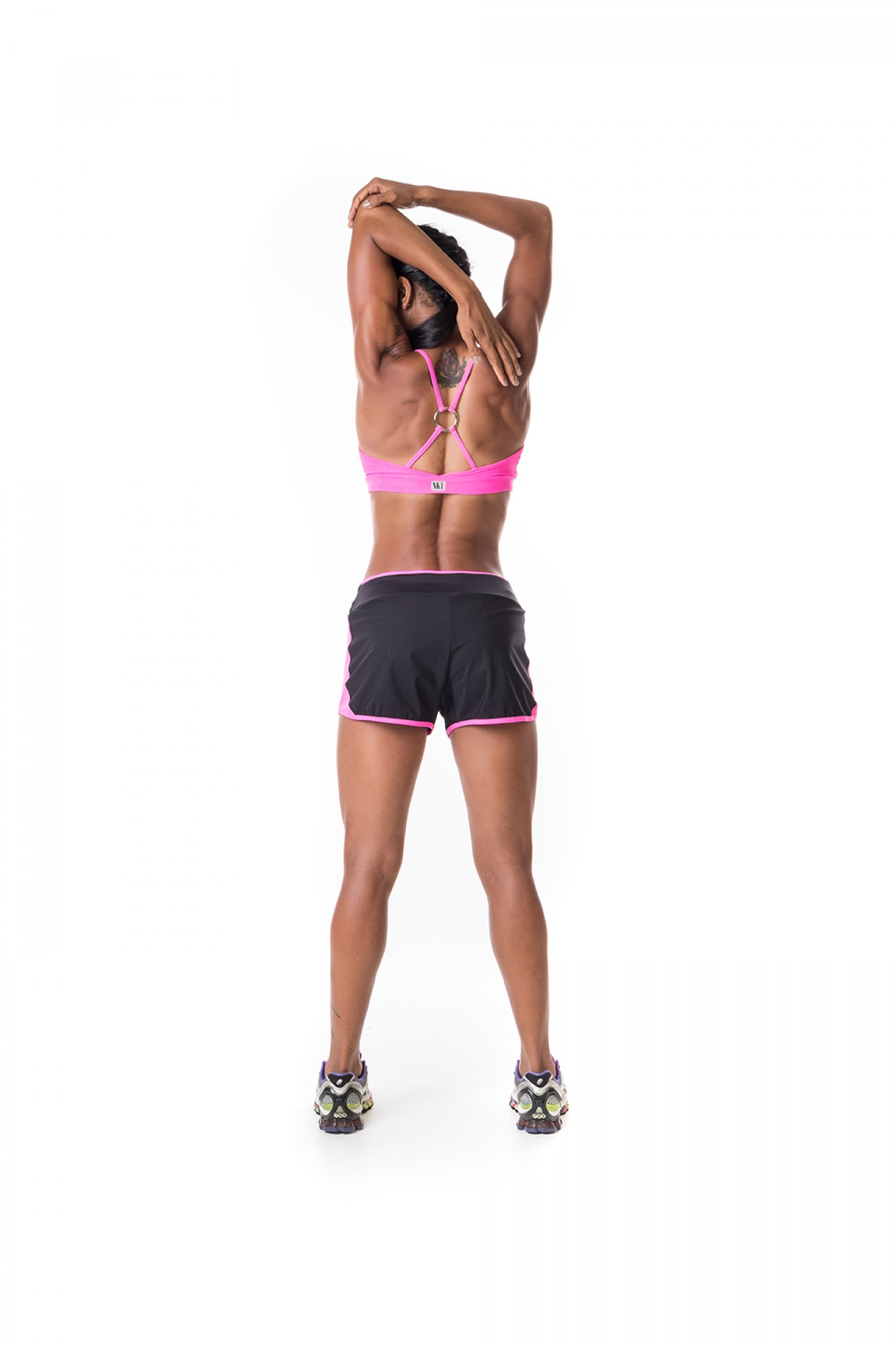 Shorts Race Pink, Coleção Challenge - NKT Fitwear Moda Fitness