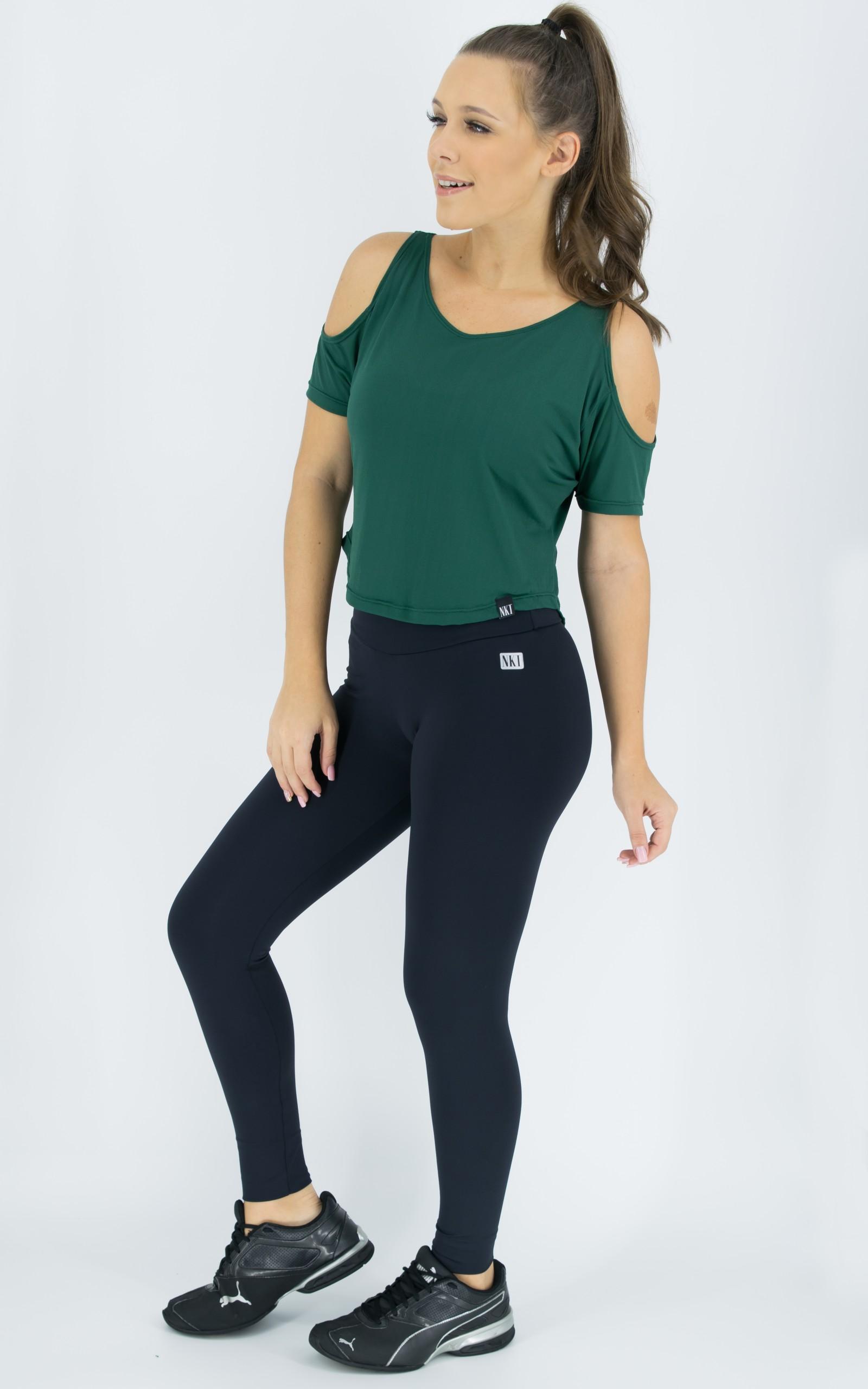 Blusa Like Verde, Coleção Move Your Body - NKT Fitwear Moda Fitness