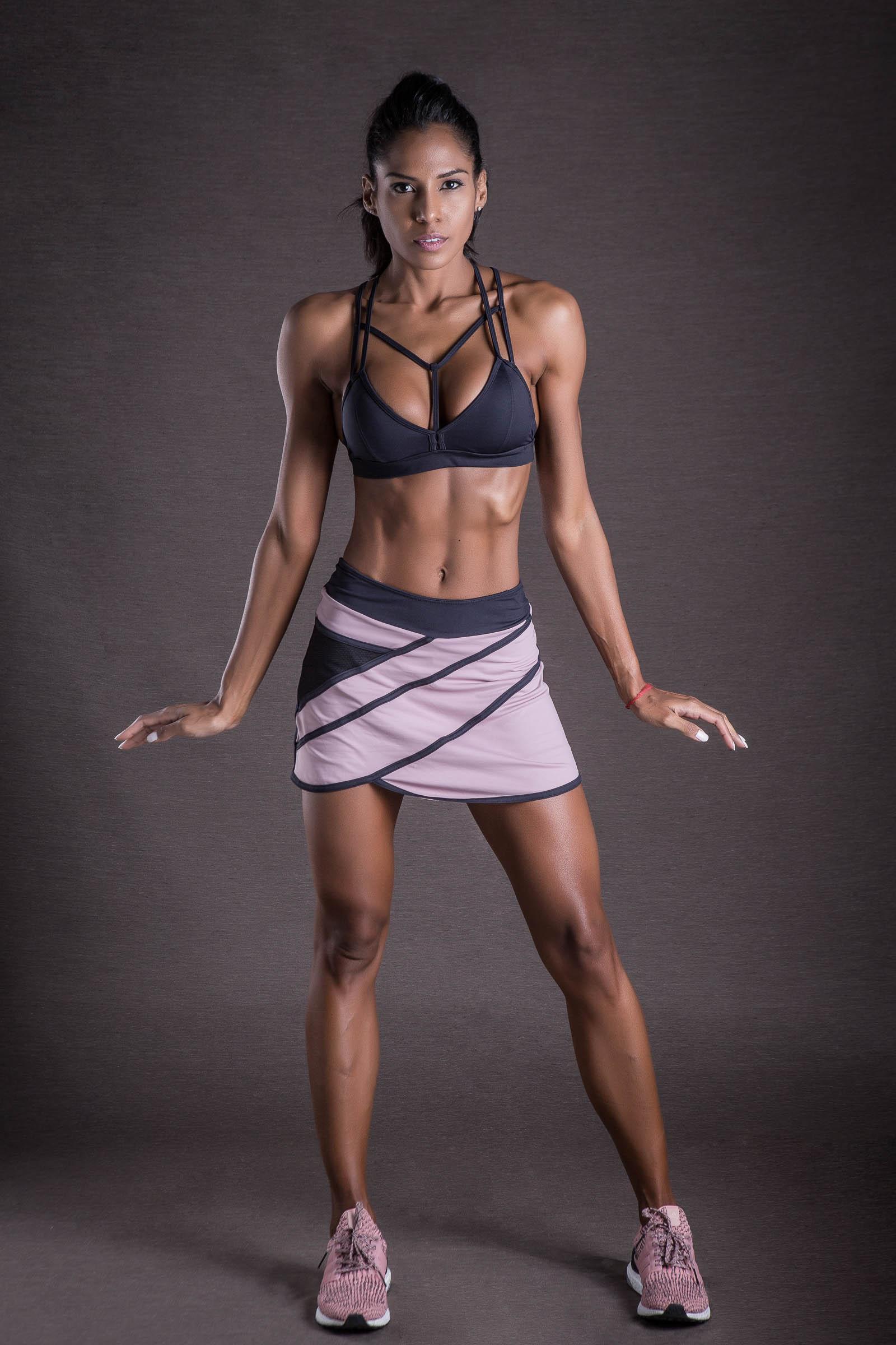 Saia Shorts Get Rose, Coleção You can - NKT Fitwear Moda Fitness