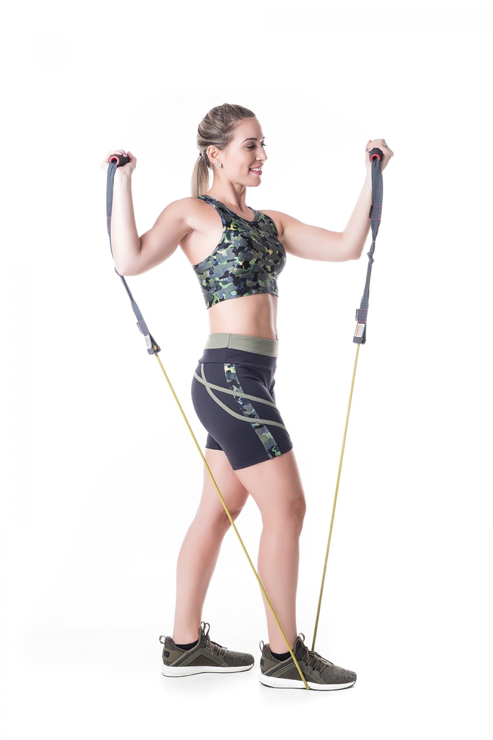 Bermuda Transform camuflado, Coleção Challenge - NKT Fitwear Moda Fitness