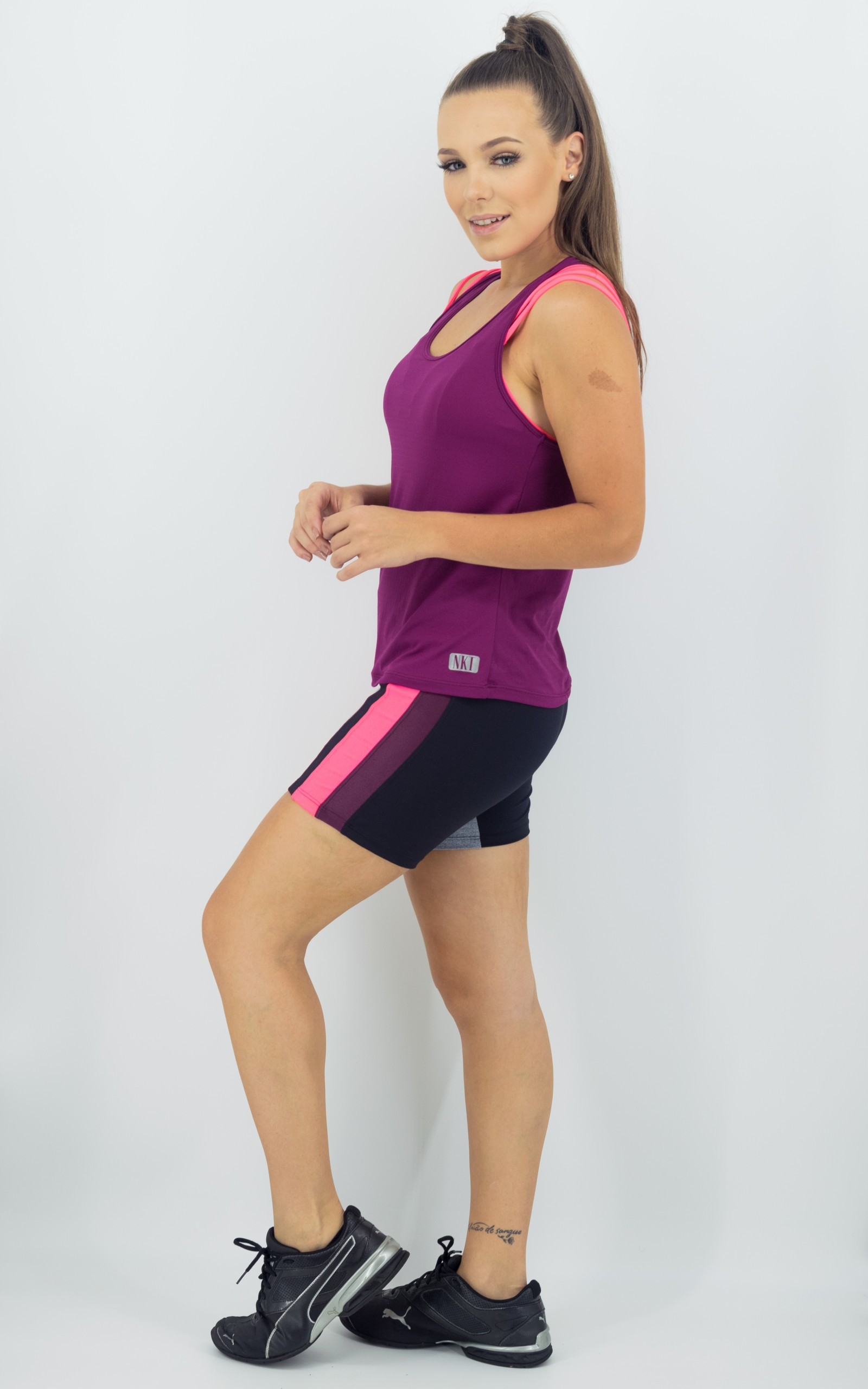 Bermuda Mellowness Glow, Coleção Move Your Body - NKT Fitwear Moda Fitness