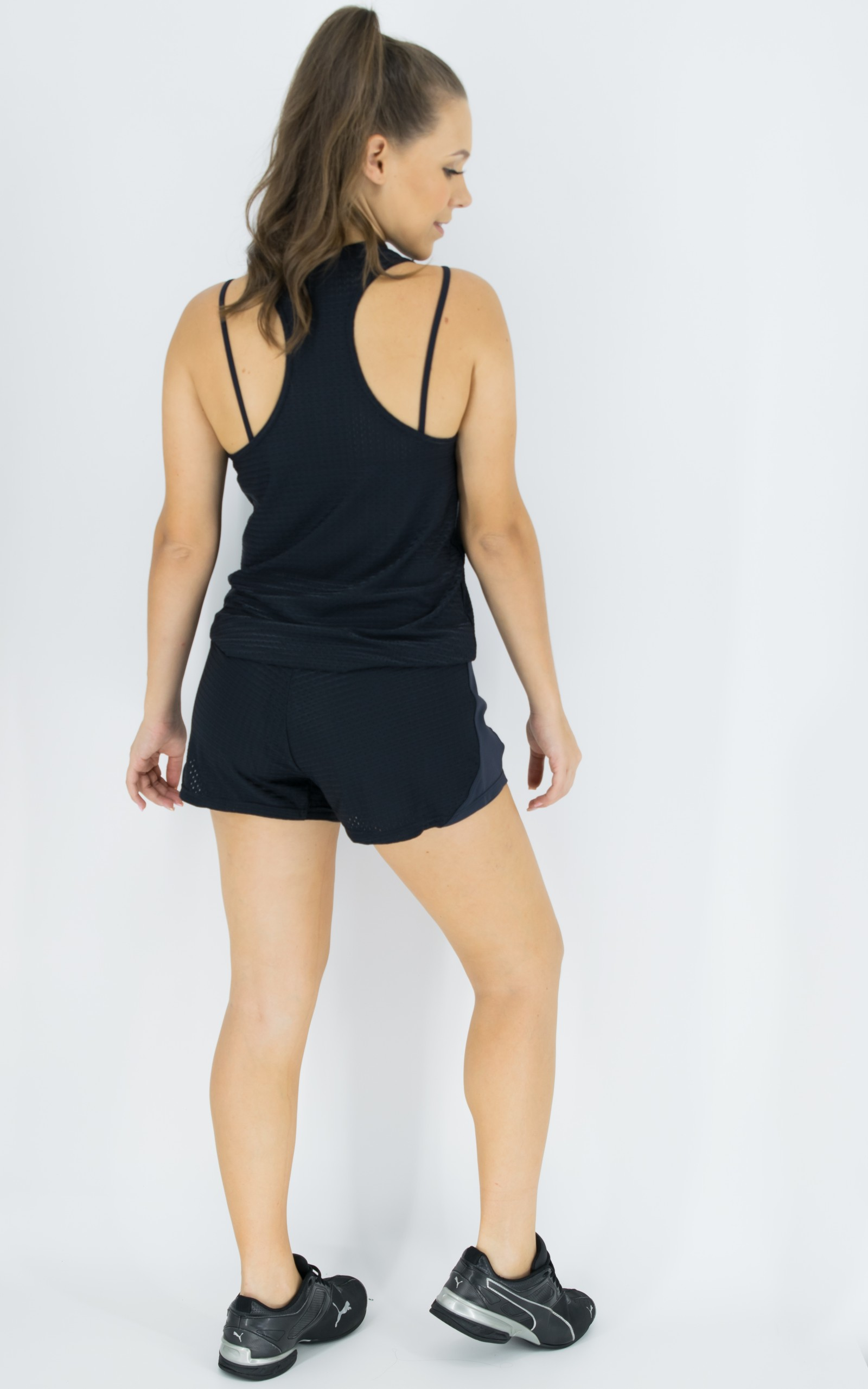 Shorts Sweet Preto, Coleção Move Your Body - NKT Fitwear Moda Fitness