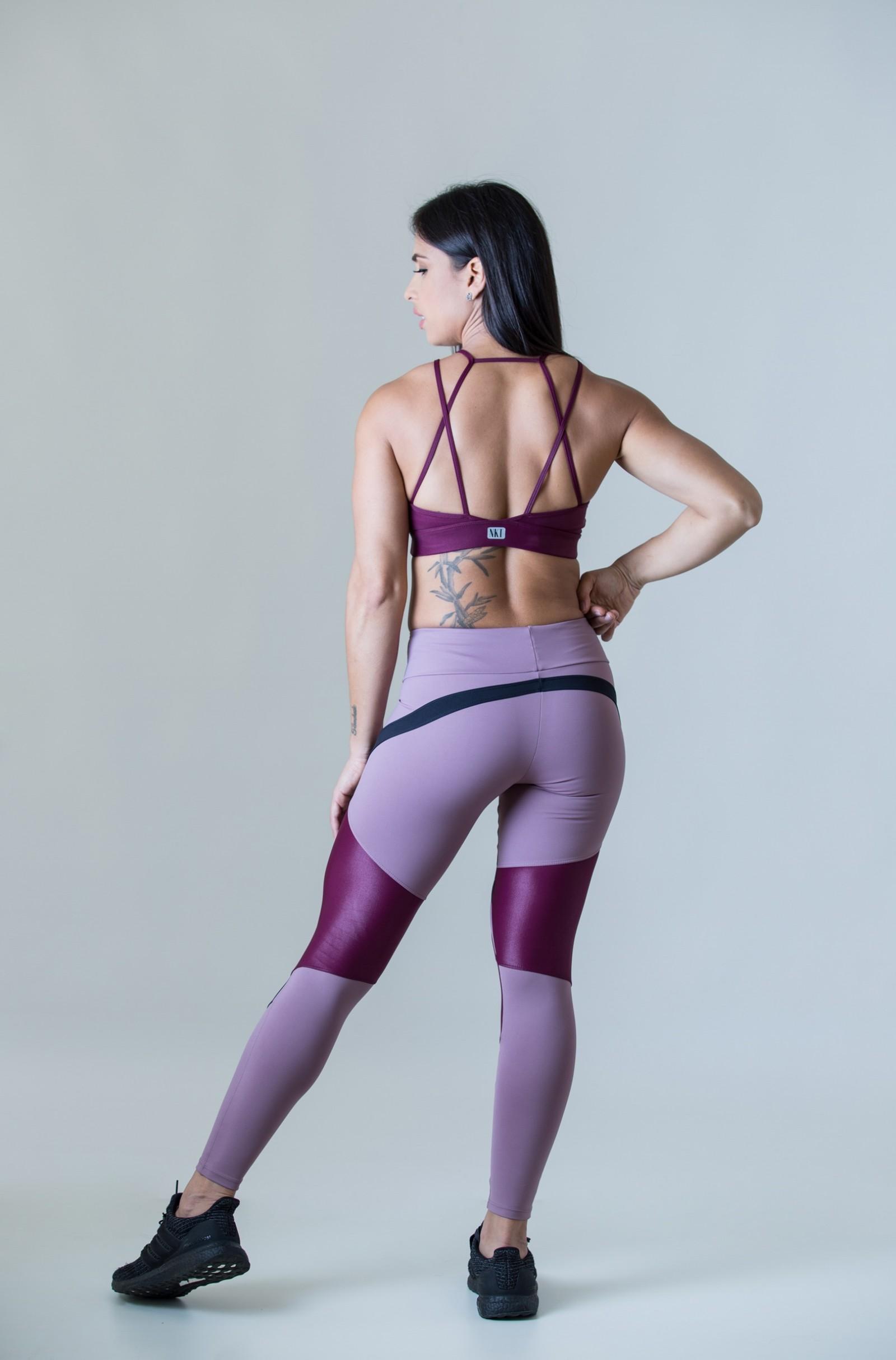 Legging Absolute Lacca, Coleção Plenitude - NKT Fitwear Moda Fitness