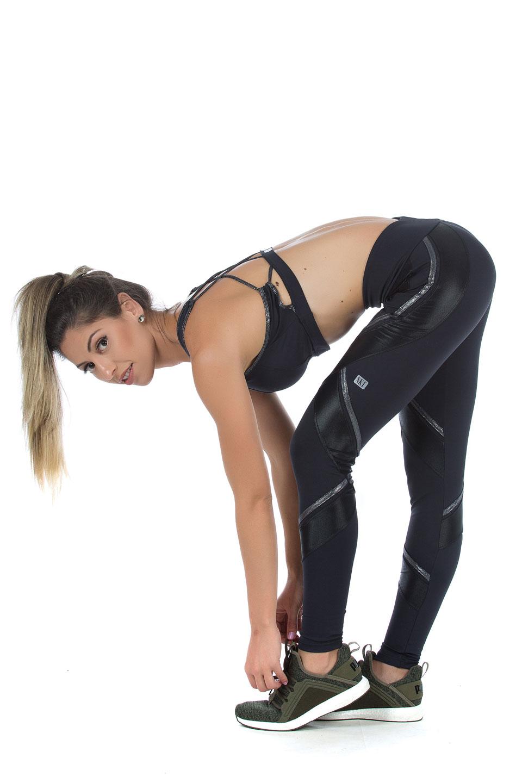 Legging Power Full Prata, Coleção Mulheres Reais - NKT Fitwear Moda Fitness