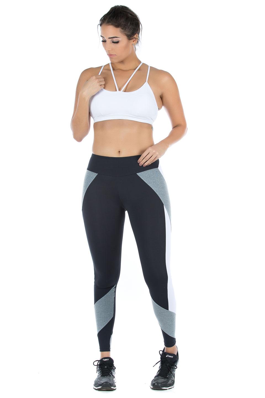 Top Modern Branco, Coleção Mulheres Reais - NKT Fitwear Moda Fitness