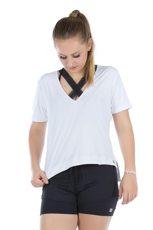 Shorts Adventure Preto, Coleção Mulheres Reais - NKT Fitwear Moda Fitness