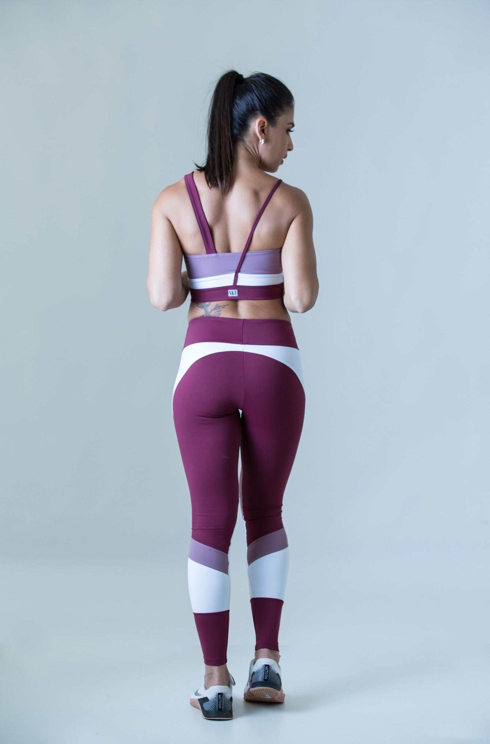 Top Fullness Rosê, Coleção Plenitude - NKT Fitwear Moda Fitness