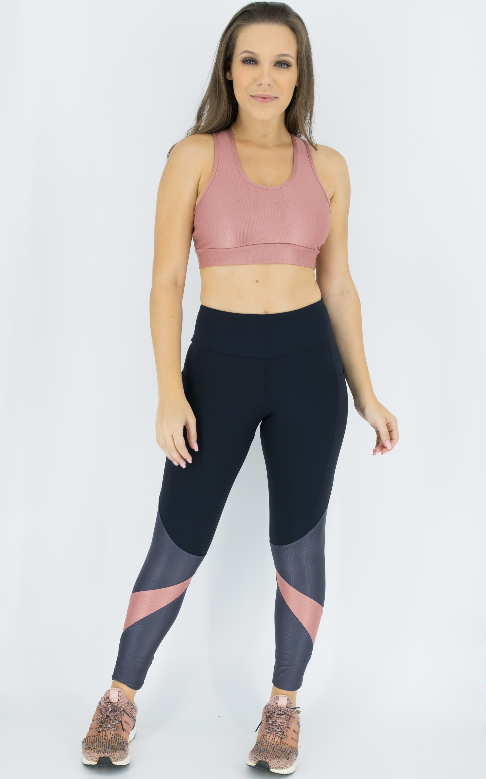 Legging Pratic Chumbo, Coleção Move Your Body - NKT Fitwear Moda Fitness