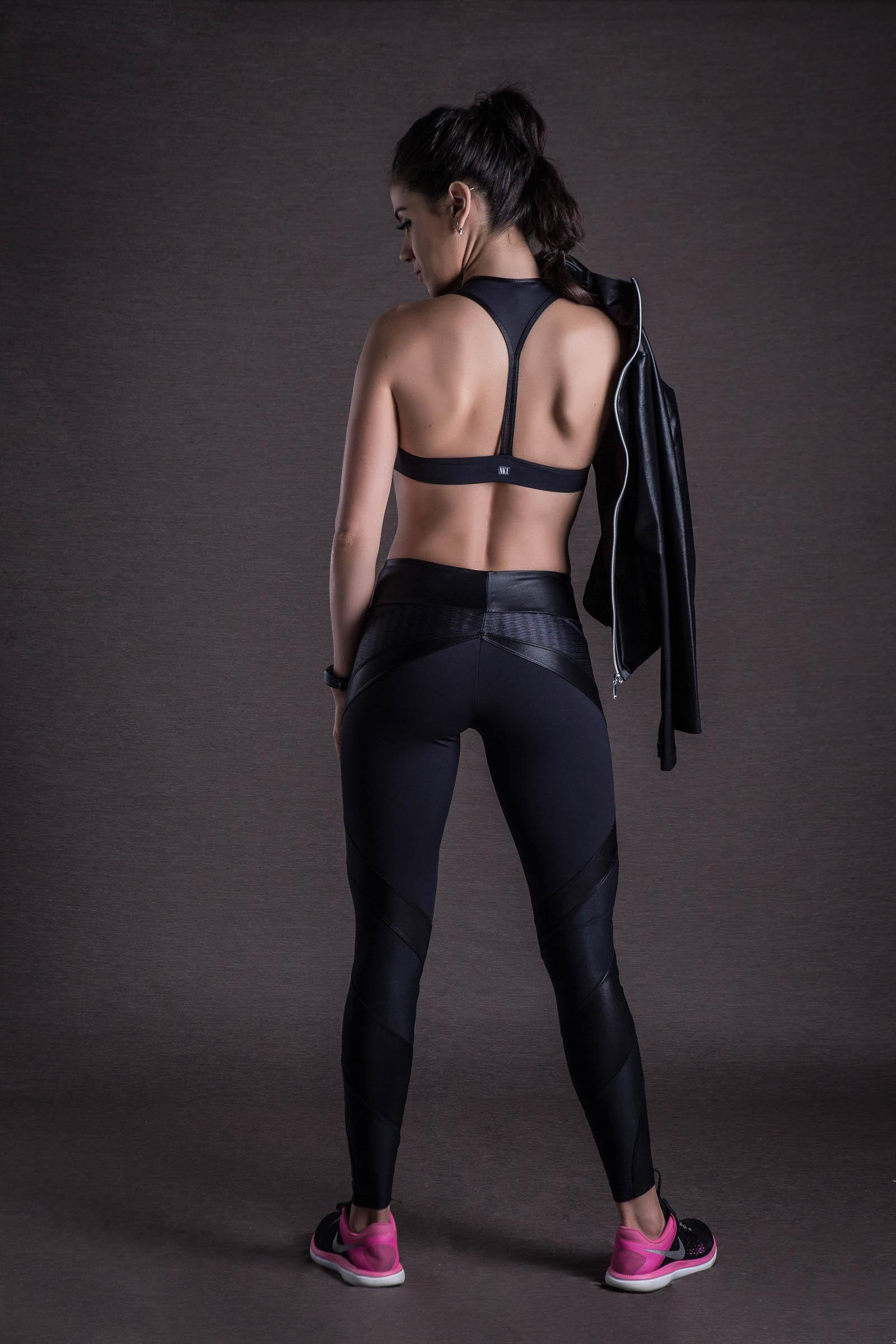 Top Move Preto, Coleção Mulheres Reais - NKT Fitwear Moda Fitness