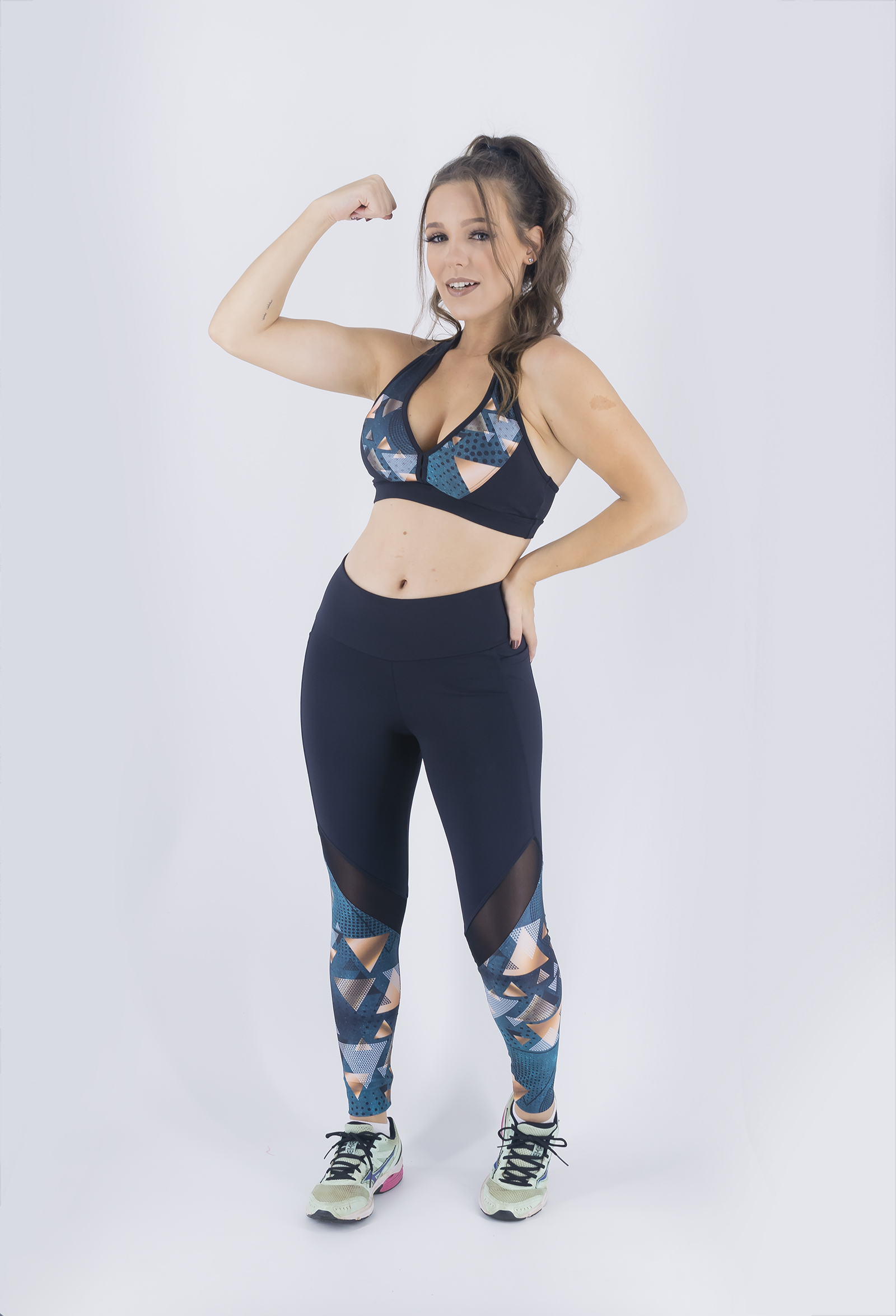 Top Set Místico, Coleção Just For You - NKT Fitwear Moda Fitness