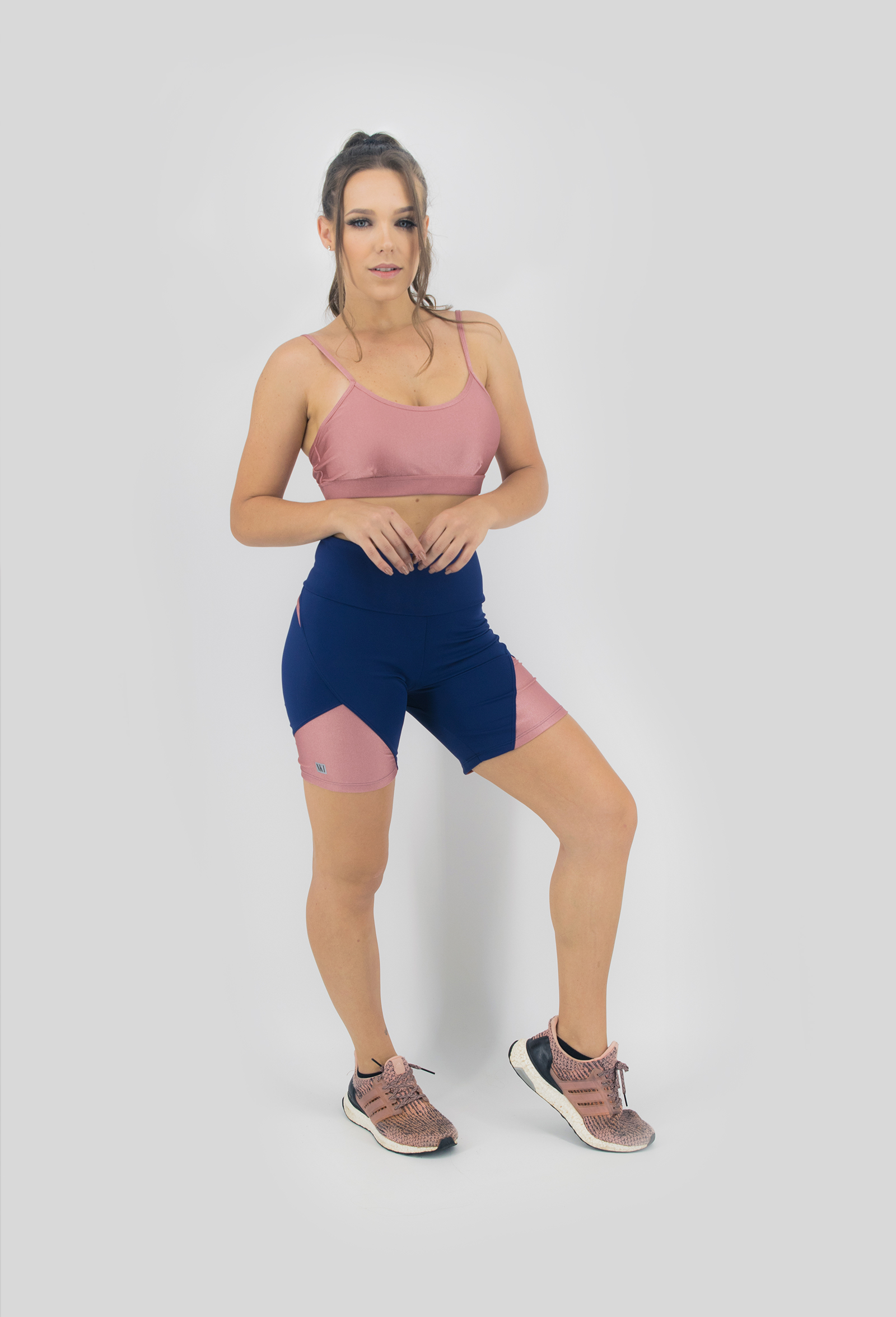 Top Profusion Coral, Coleção Move Your Body - NKT Fitwear Moda Fitness