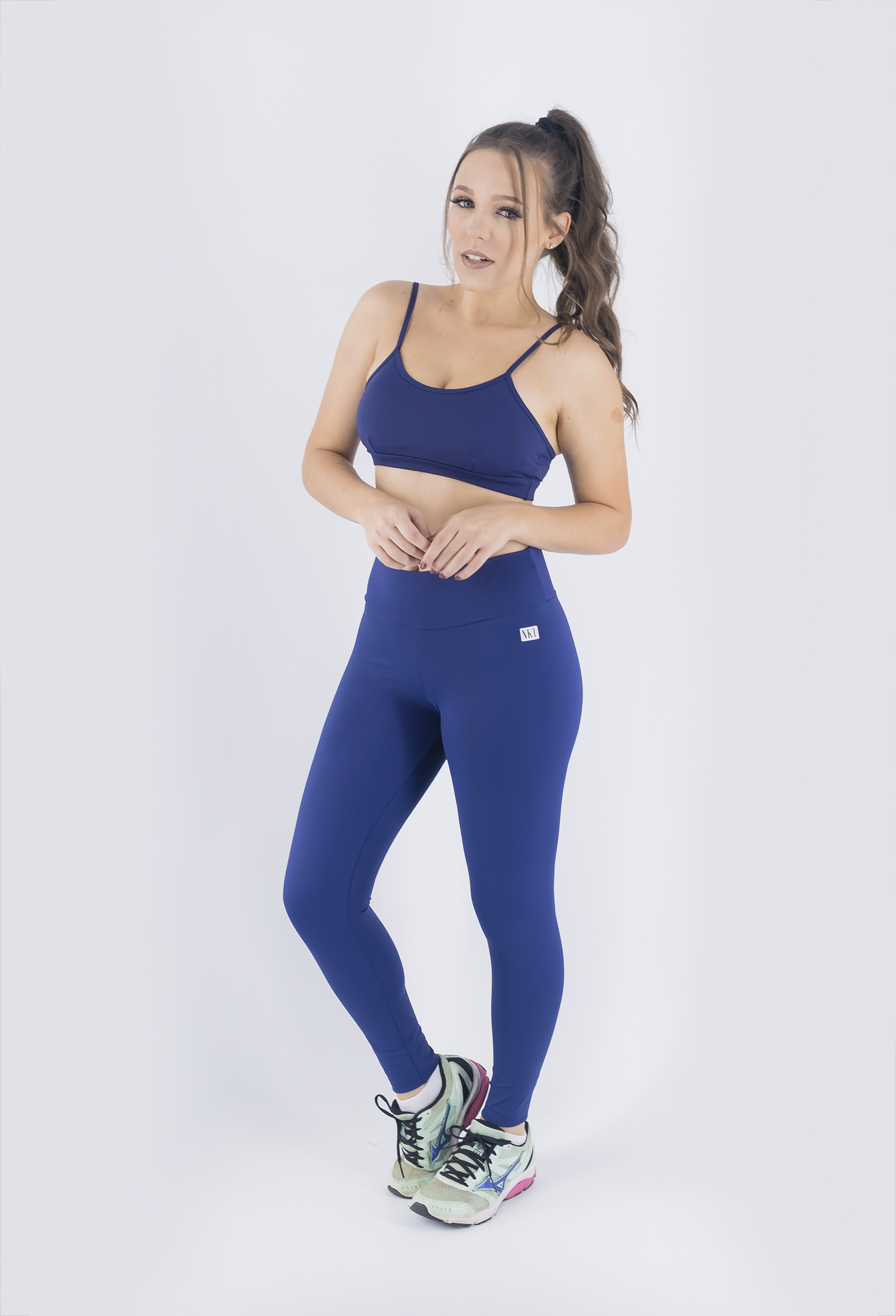 Top Profusion Marinho, Coleção Just For You - NKT Fitwear Moda Fitness