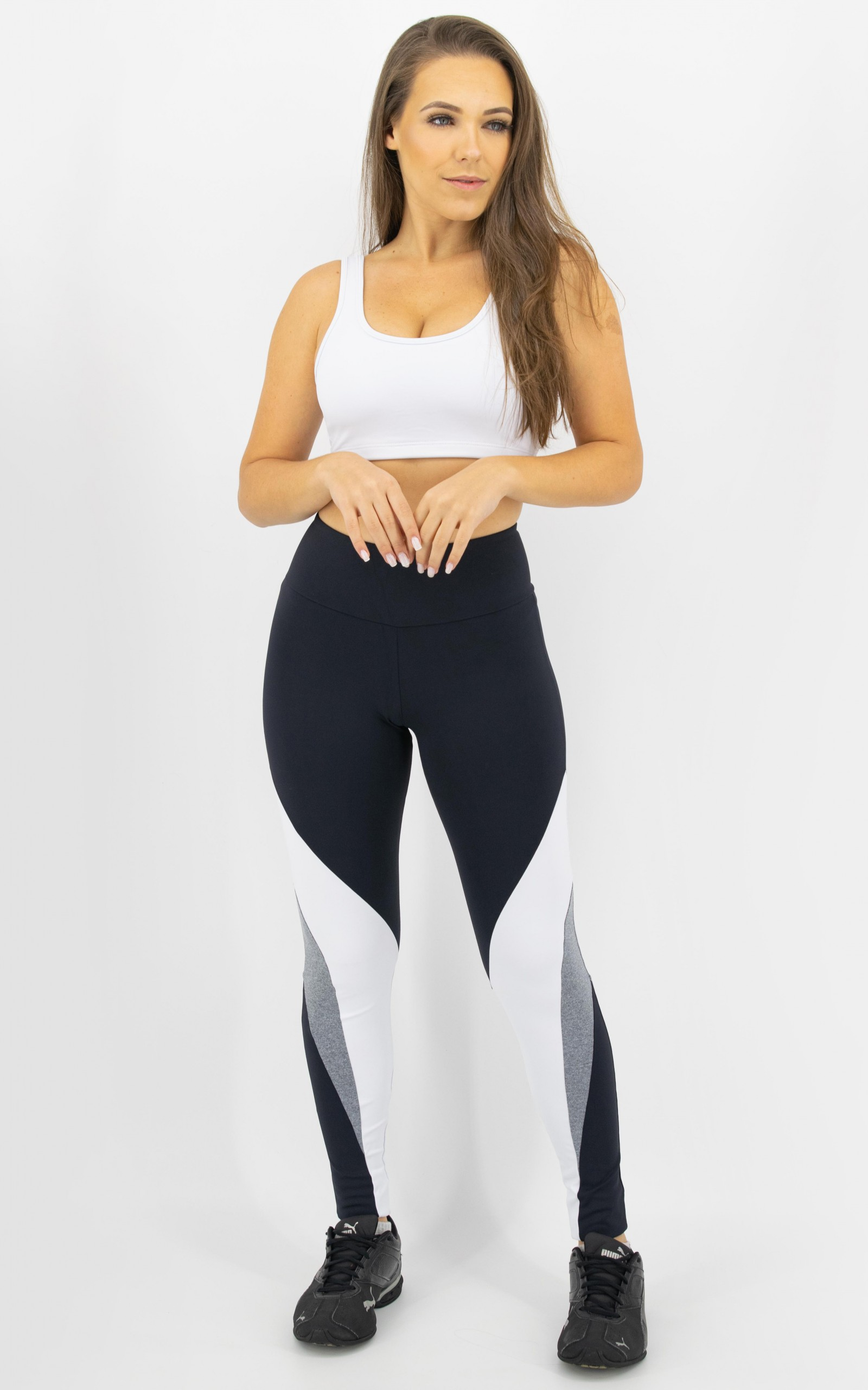 Legging Arrow Mescla, Coleção Move Your Body - NKT Fitwear Moda Fitness