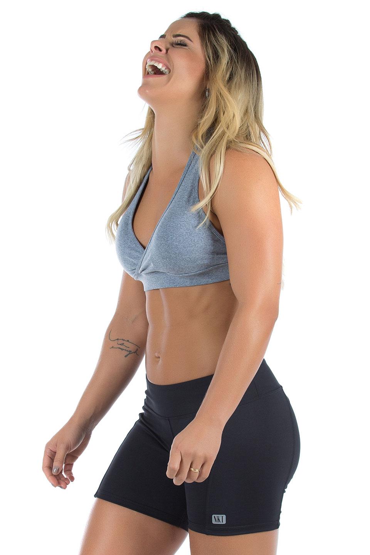 Top Move Mescla, Coleção Mulheres Reais - NKT Fitwear Moda Fitness