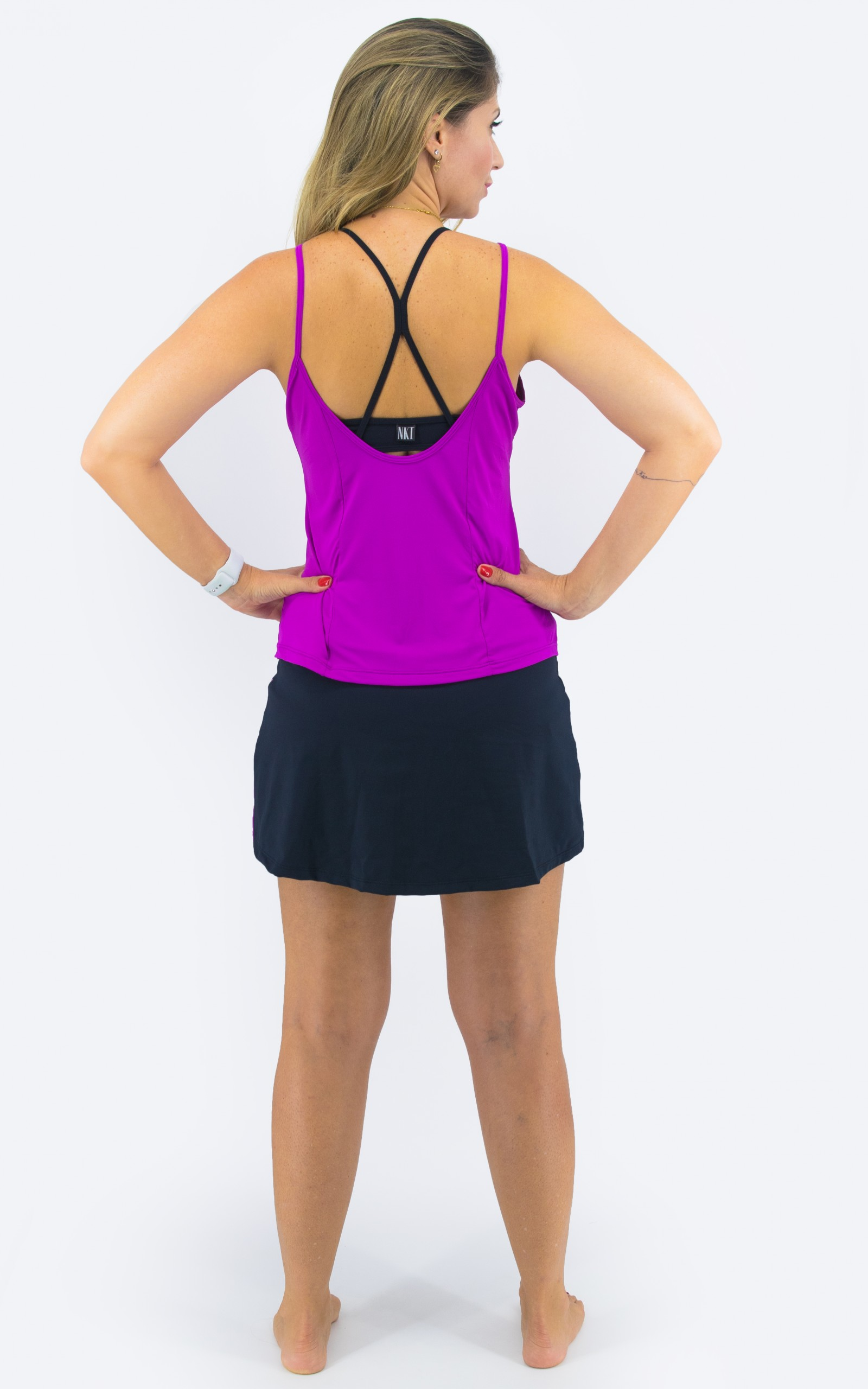 Regata Reach Fúcsia, Coleção YOURSELF - NKT Fitwear Moda Fitness
