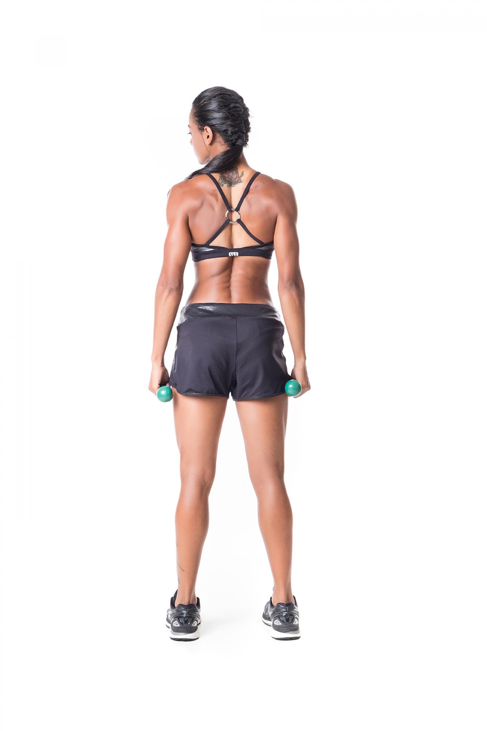 Top Infinity Prata, Coleção Challenge - NKT Fitwear Moda Fitness