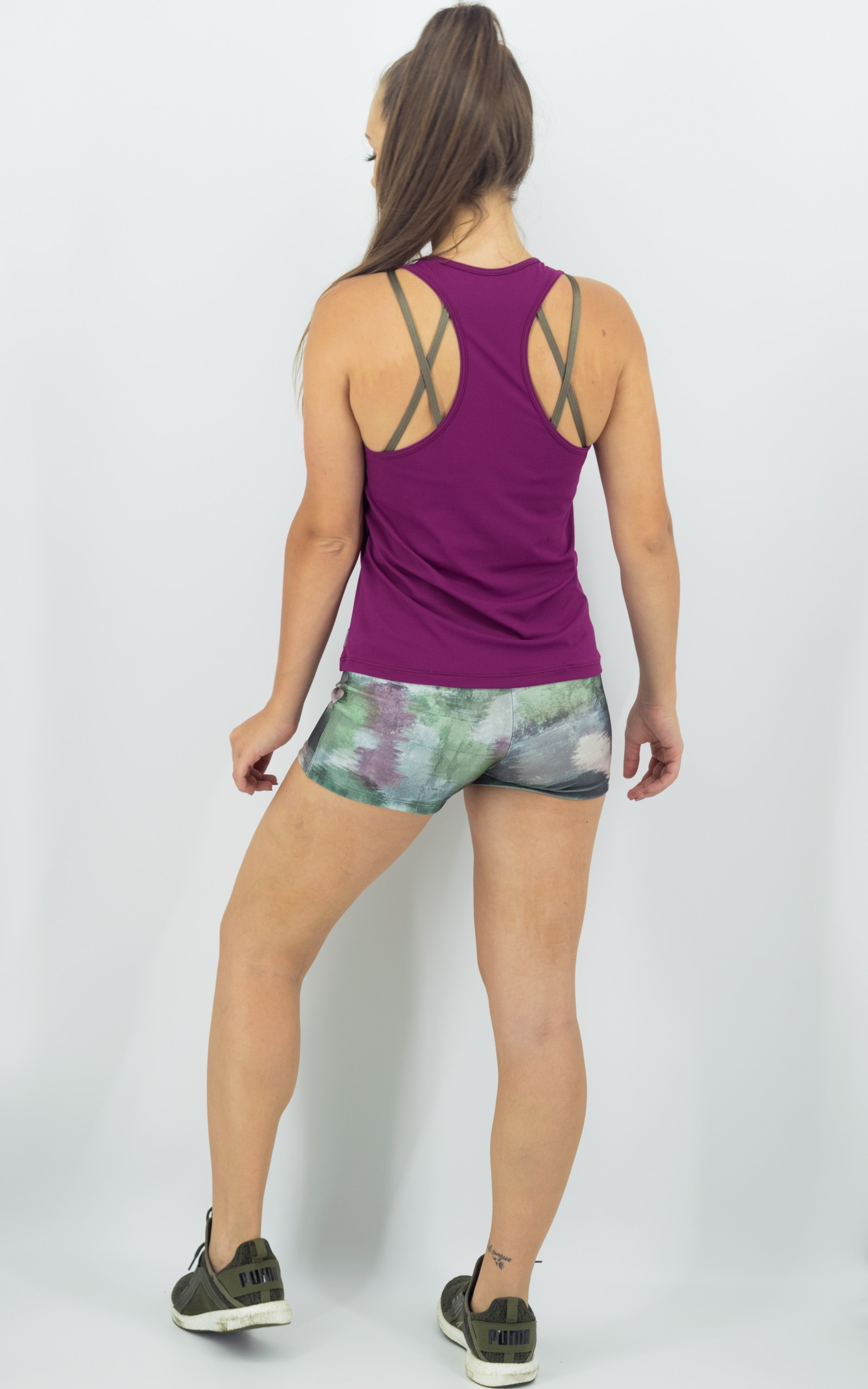 Shorts Confort Plus Estampado, Coleção Move Your Body - NKT Fitwear Moda Fitness