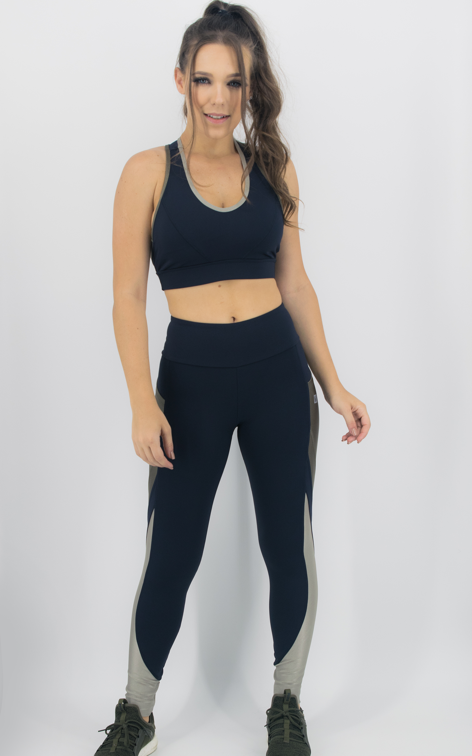 Top Expression Champanhe, Coleção Move Your Body - NKT Fitwear Moda Fitness