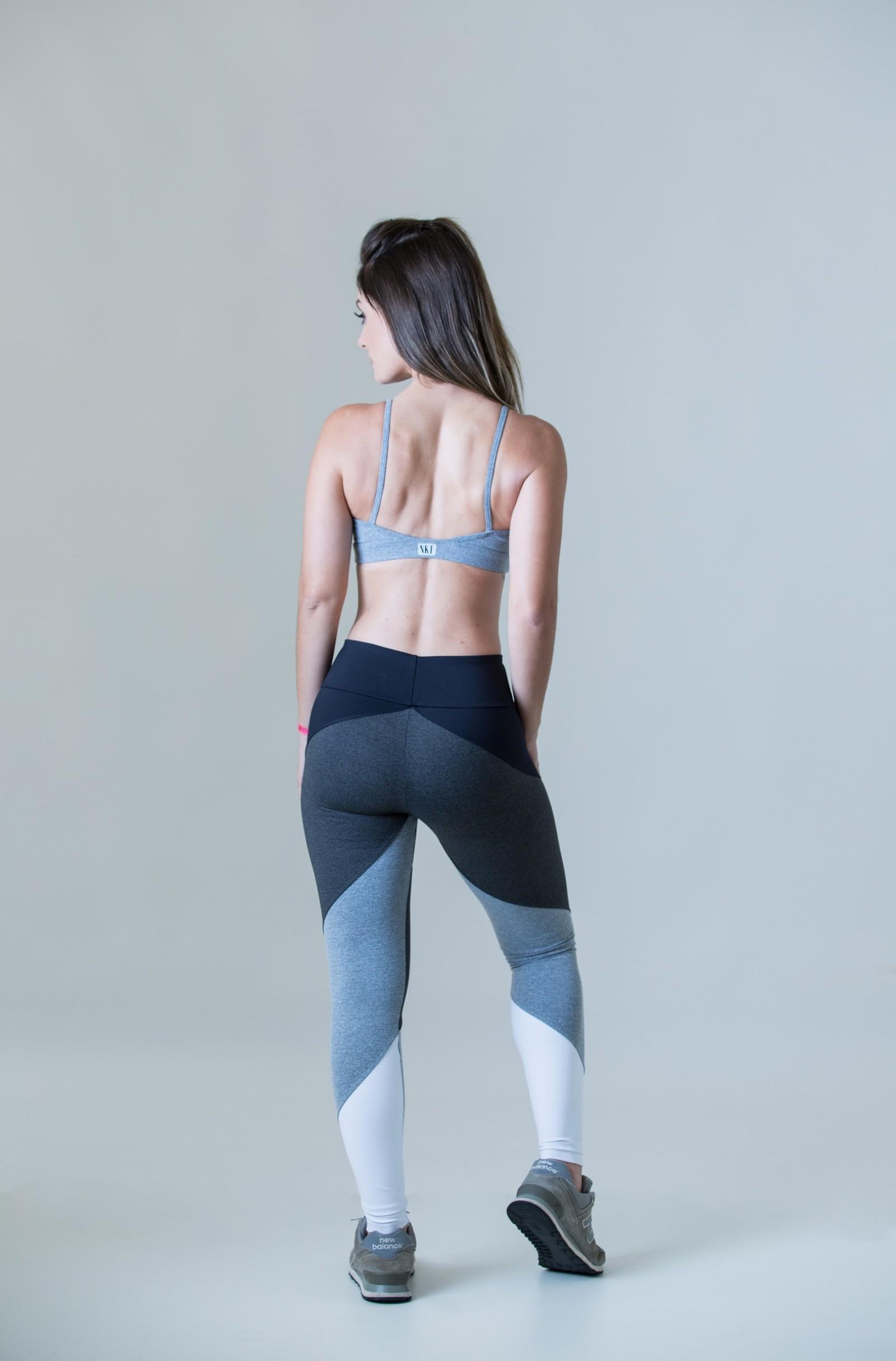 Top Profusion Mescla, Coleção Plenitude - NKT Fitwear Moda Fitness