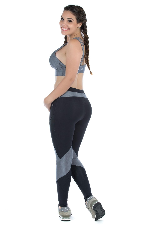 Legging Fun Platine, Coleção Mulheres Reais - NKT Fitwear Moda Fitness