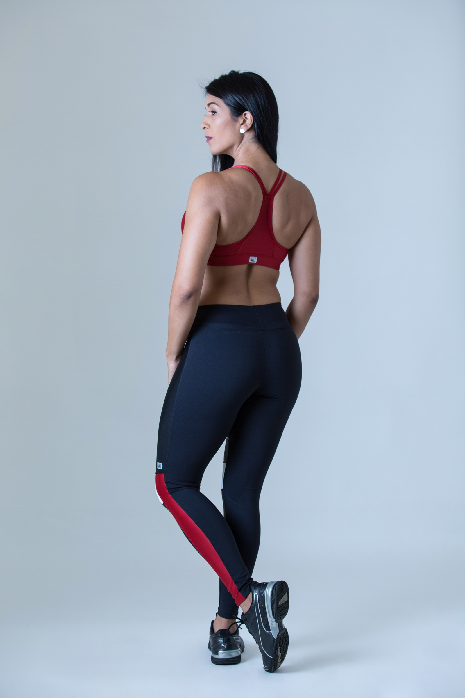 Legging Perfection Vermelho, Coleção Plenitude - NKT Fitwear Moda Fitness