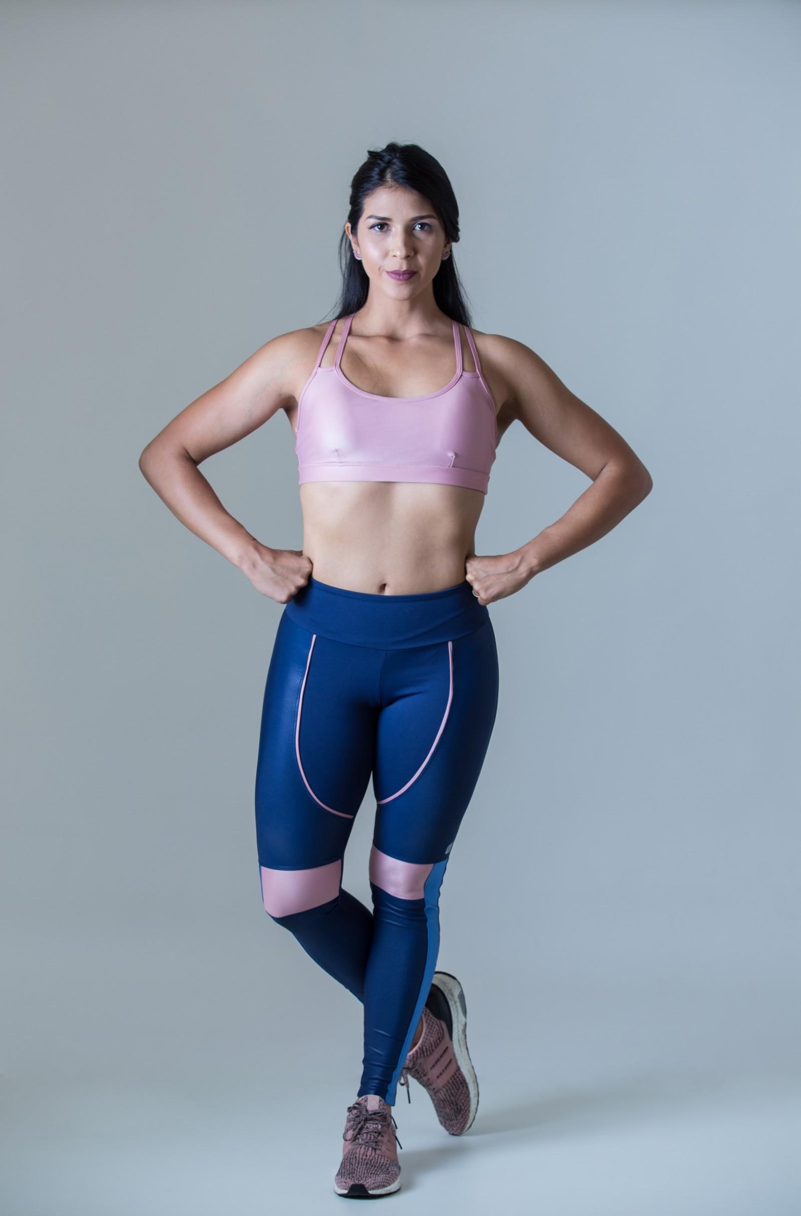 Legging Perfection Rosa Bocca, Coleção Plenitude - NKT Fitwear Moda Fitness