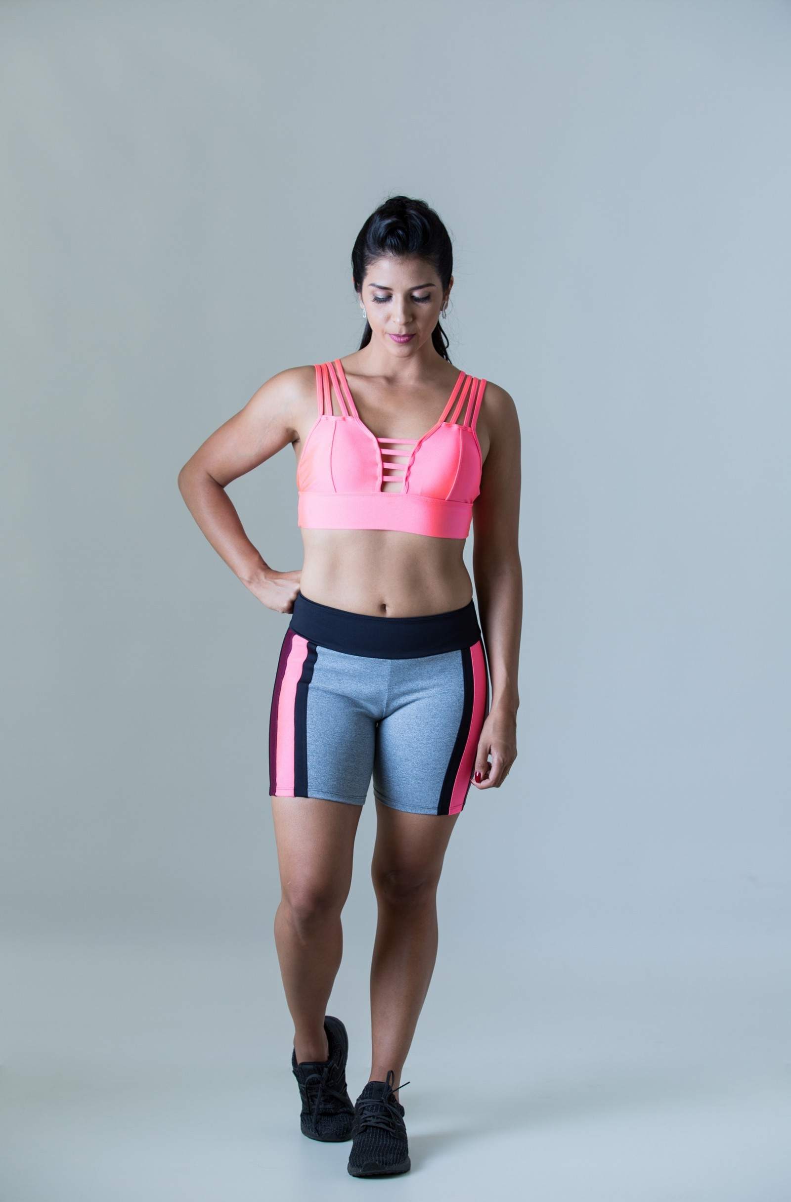 Bermuda Mellowness Glow, Coleção Plenitude - NKT Fitwear Moda Fitness