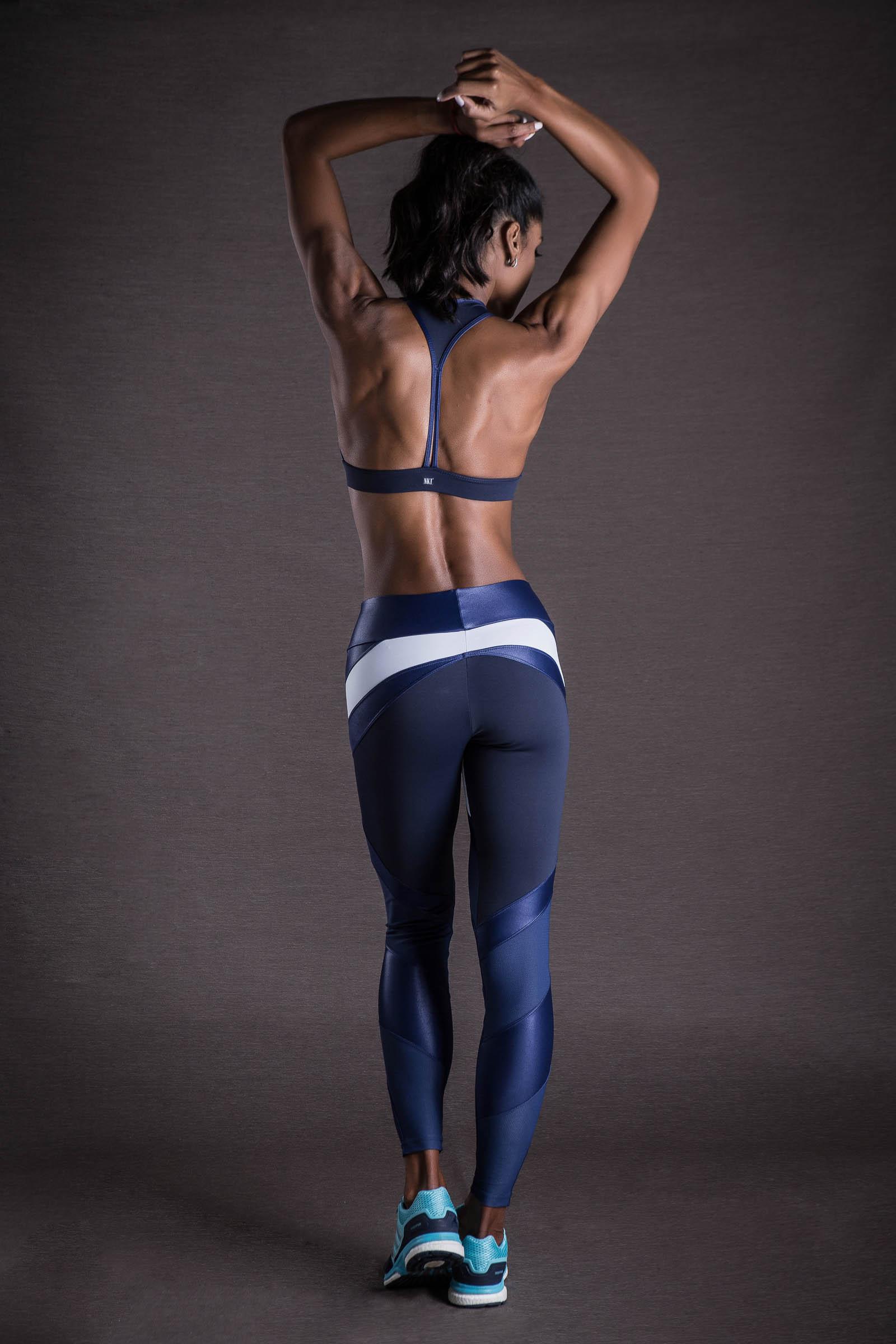 Legging Move Marinho, Coleção You can - NKT Fitwear Moda Fitness