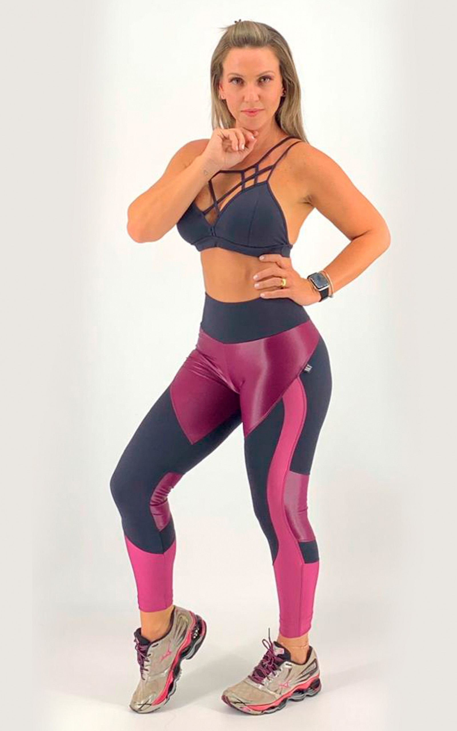 Legging Moviment Lacca, Coleção Move Your Body - NKT Fitwear Moda Fitness
