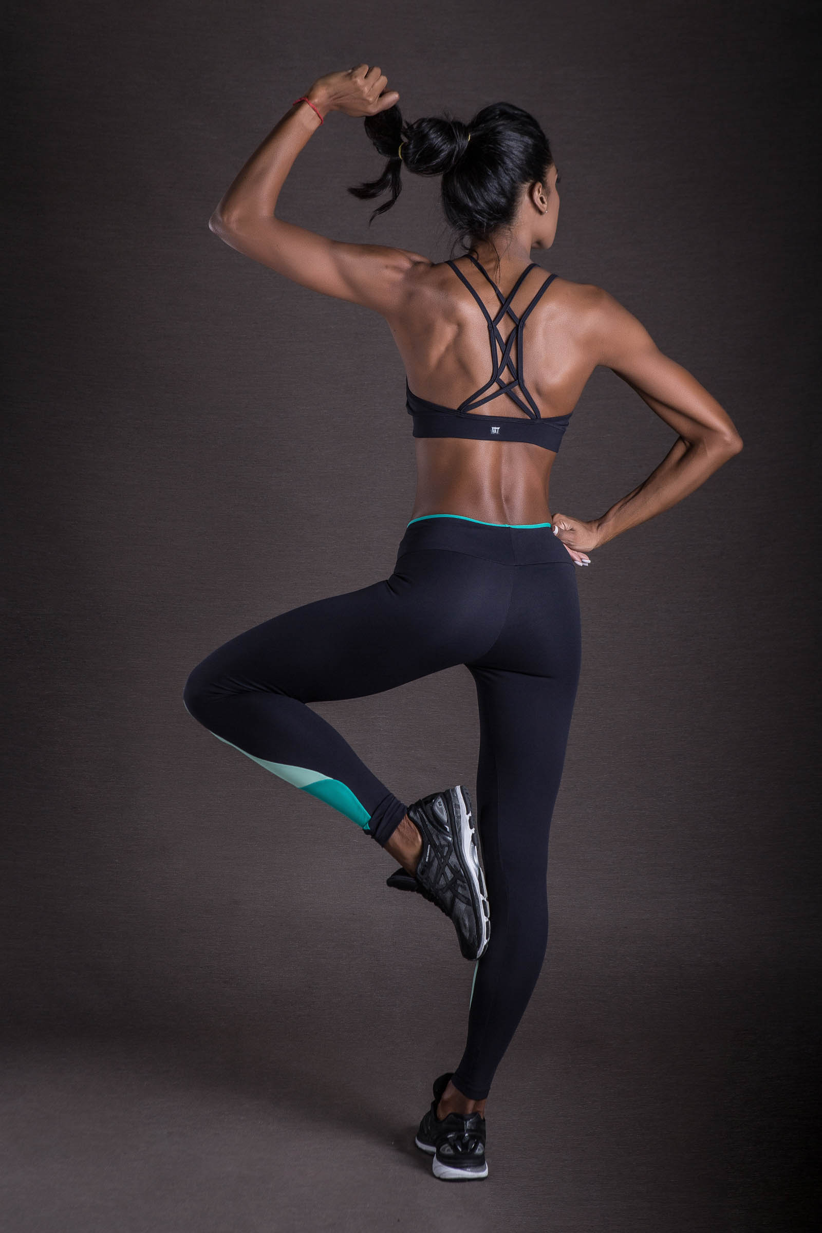 Legging Evolution Verde, Coleção You can - NKT Fitwear Moda Fitness