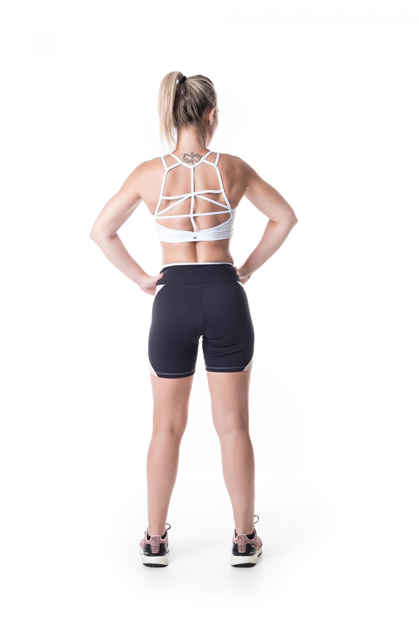 Top Conceito Branco, Coleção Challenge - NKT Fitwear Moda Fitness