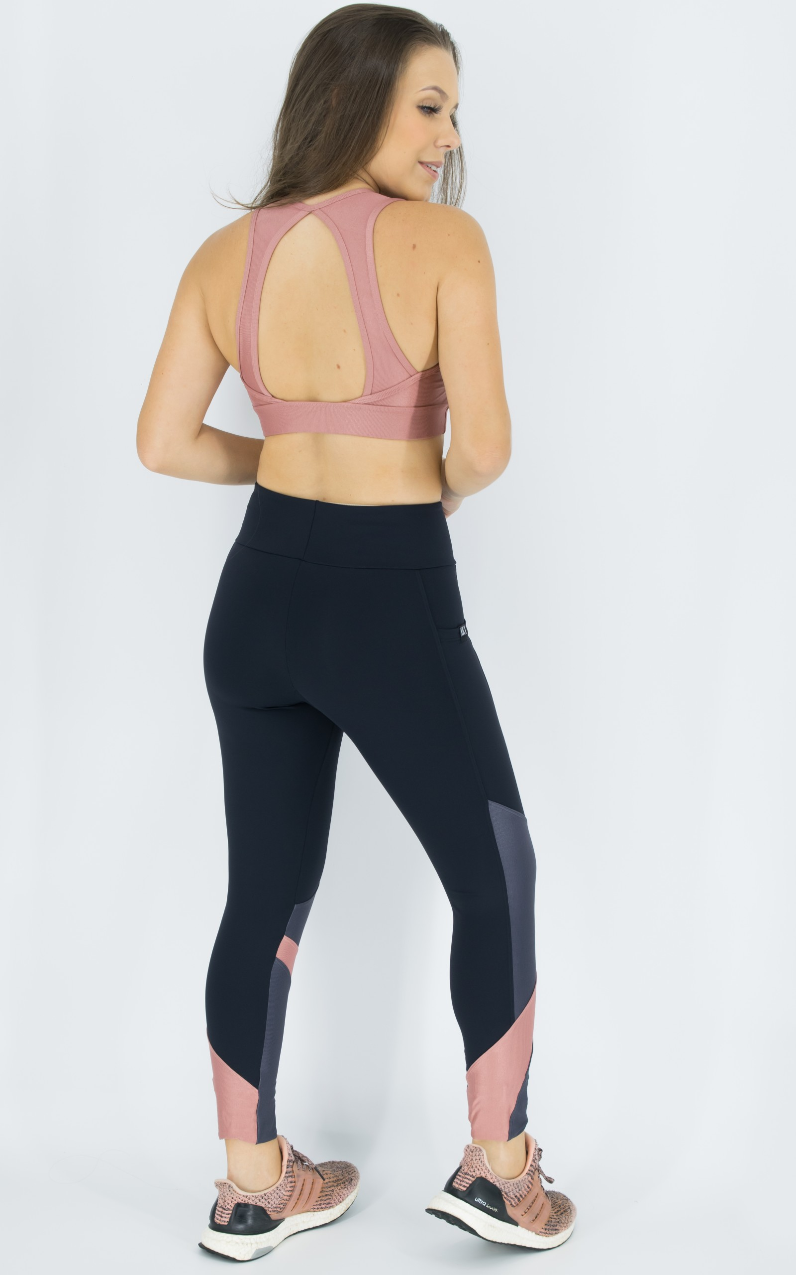 Top Pratic Rosa, Coleção Move Your Body - NKT Fitwear Moda Fitness