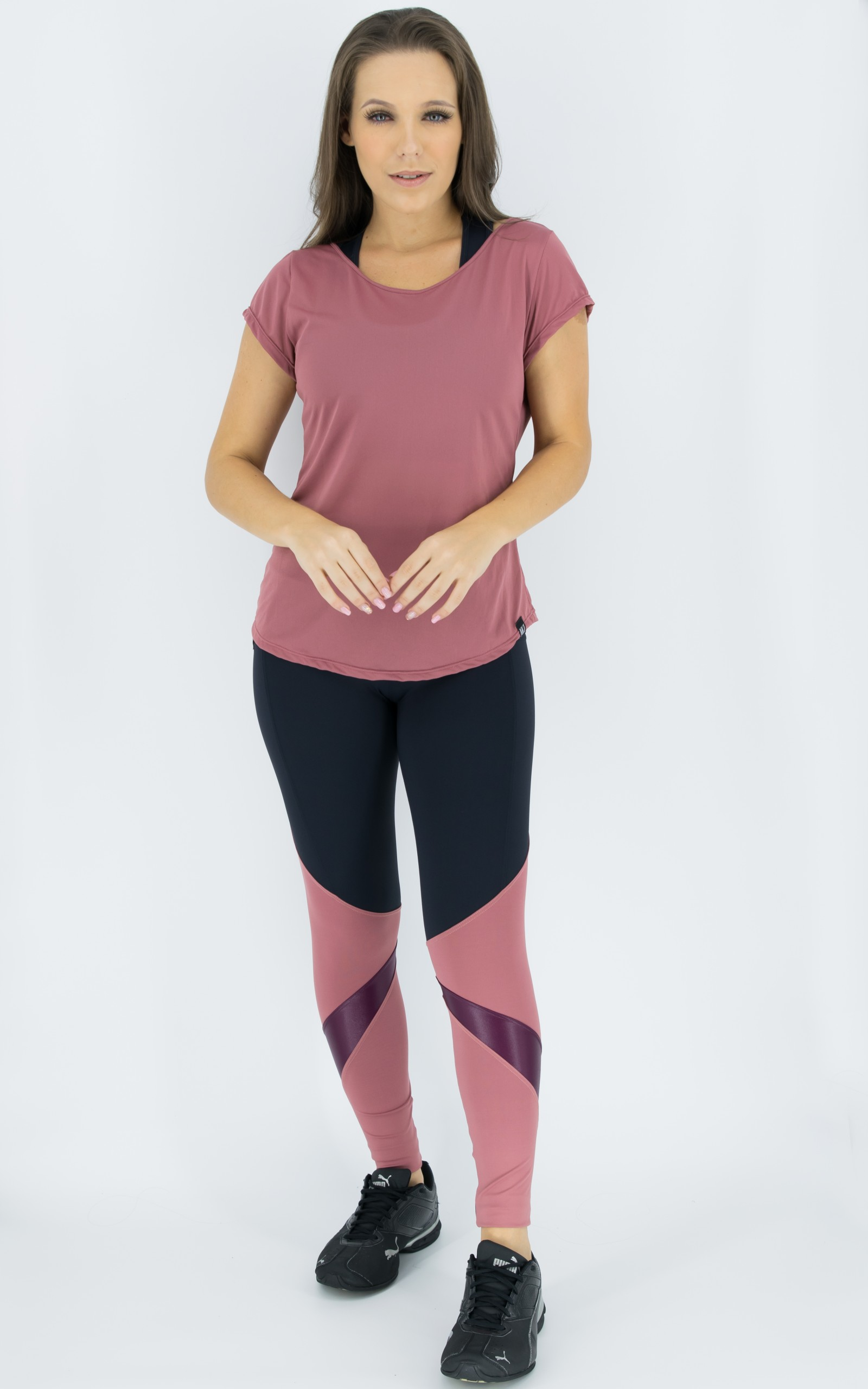 Legging Pratic Blush, Coleção Move Your Body - NKT Fitwear Moda Fitness