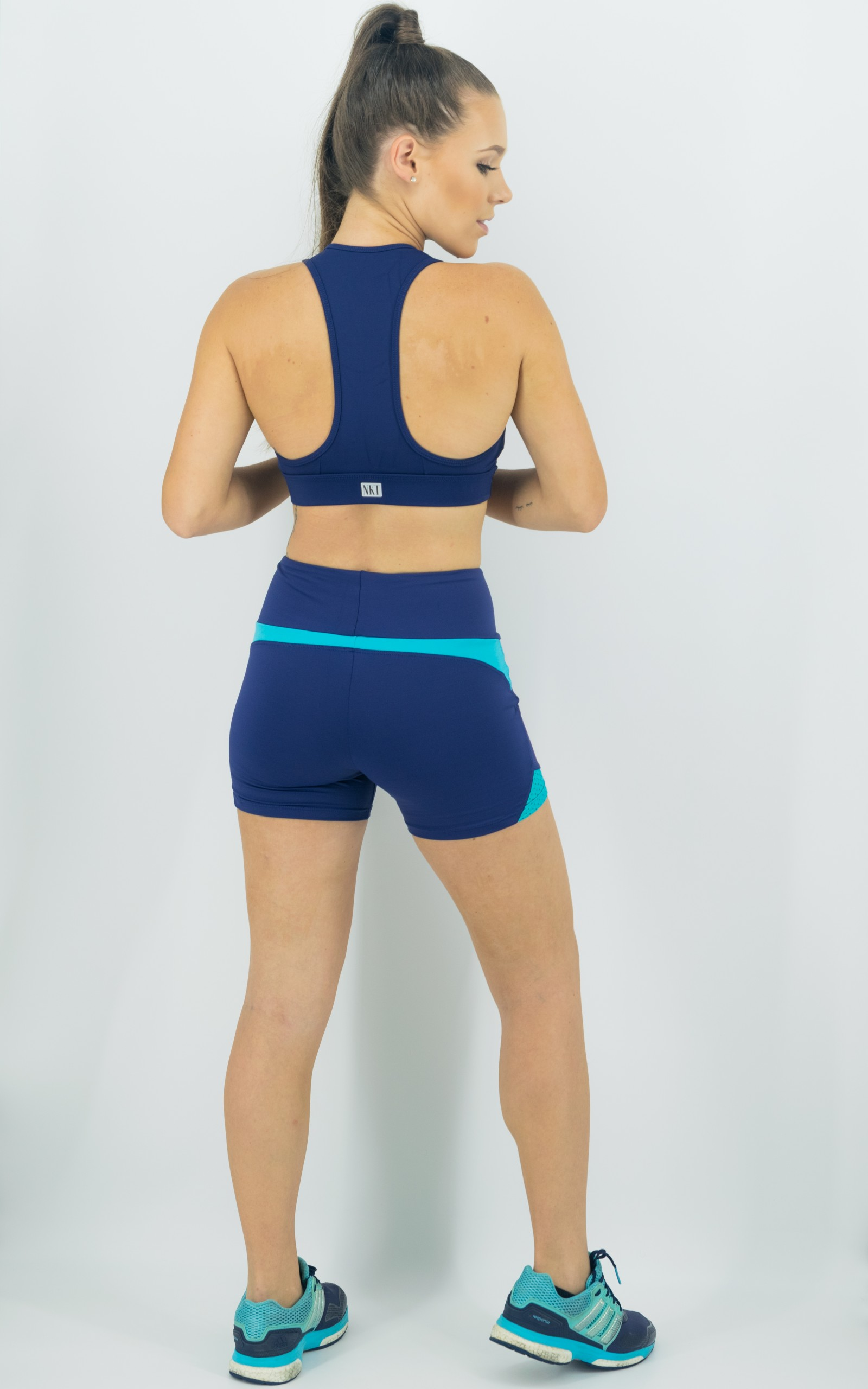 Top Freedom Marinho, Coleção Move Your Body - NKT Fitwear Moda Fitness